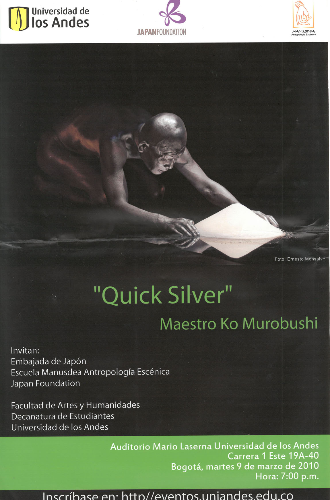 quick silver、Showing of Workshop Students[プログラム, p1]