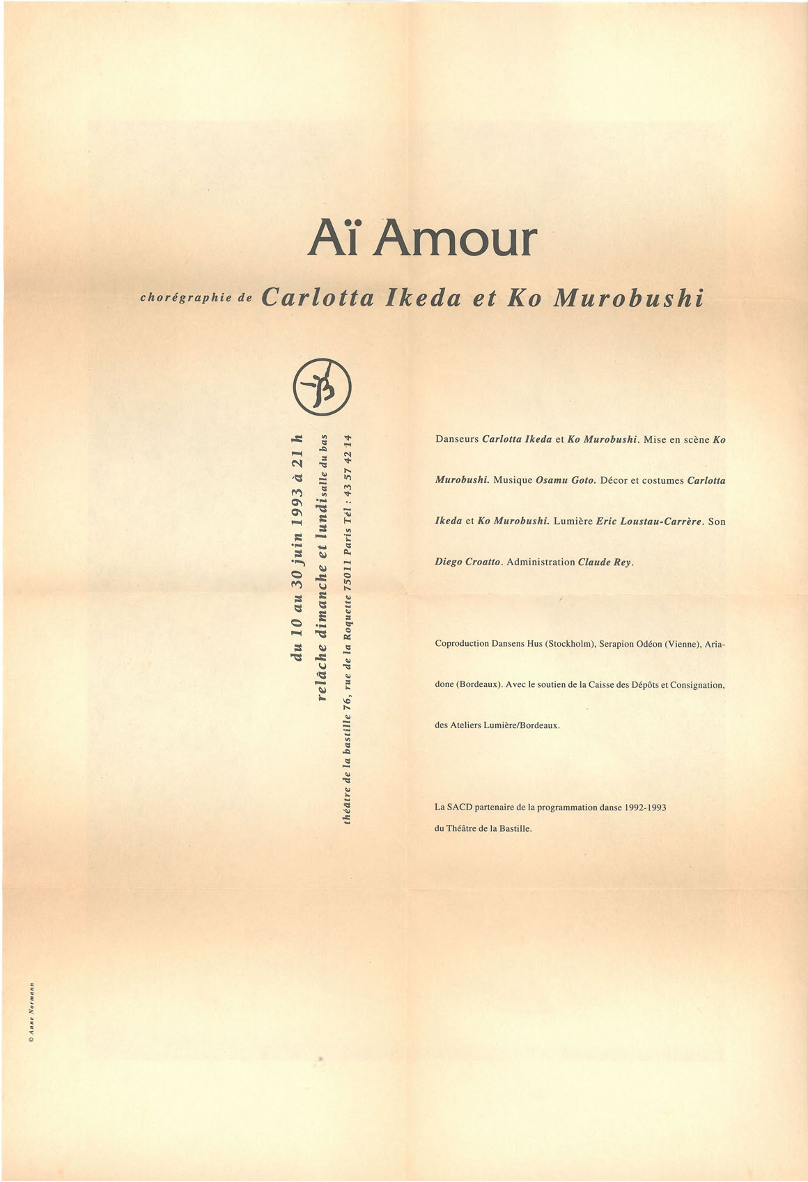 """Ai Amour""[Flyer, p2]"