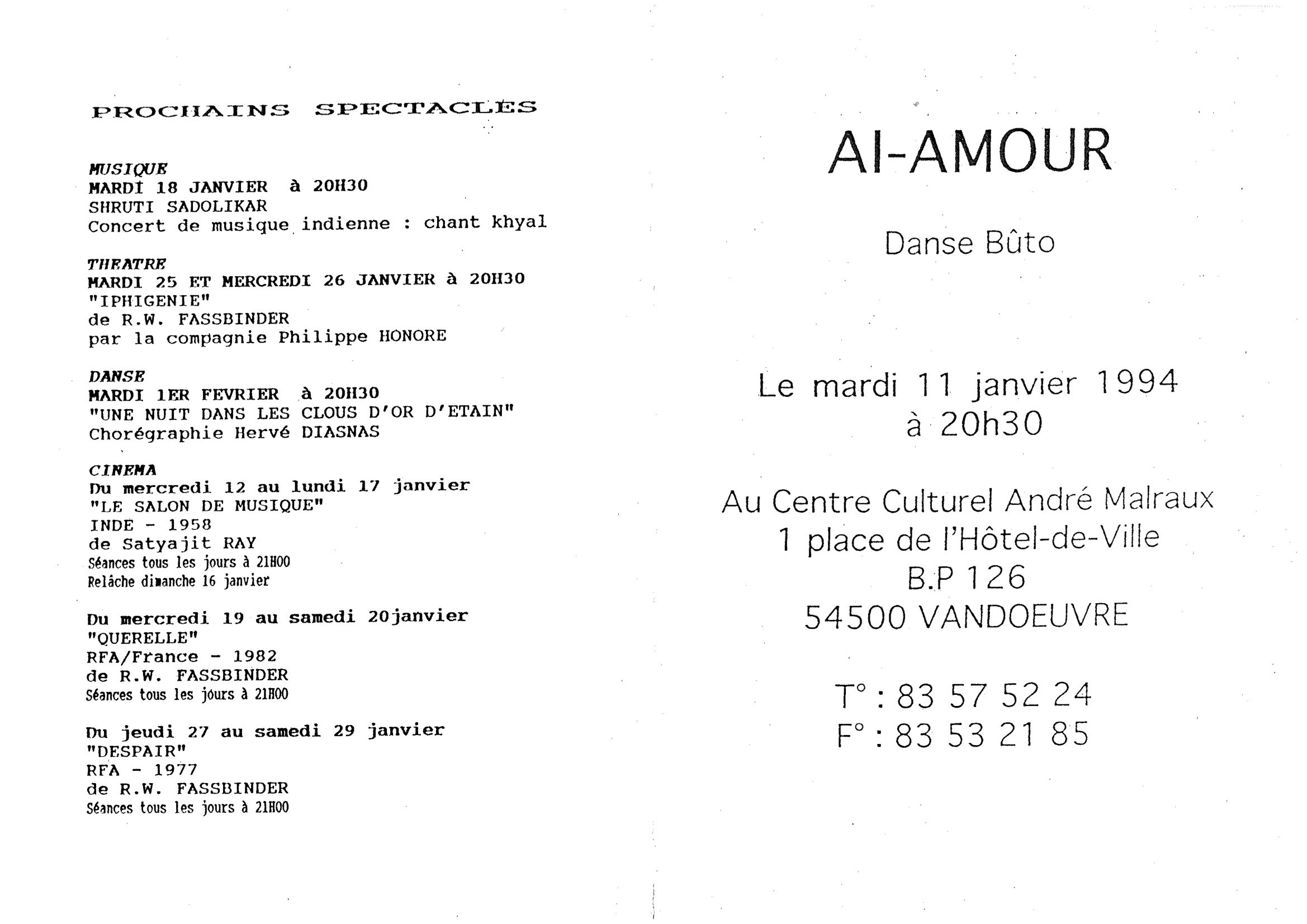"""Ai Amour""
