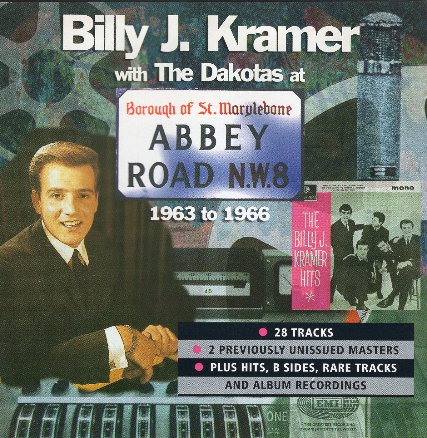 """Billy J. Kramer - Abbey Road 1963-1966"" Billy J. Kramer & The Dakotas"