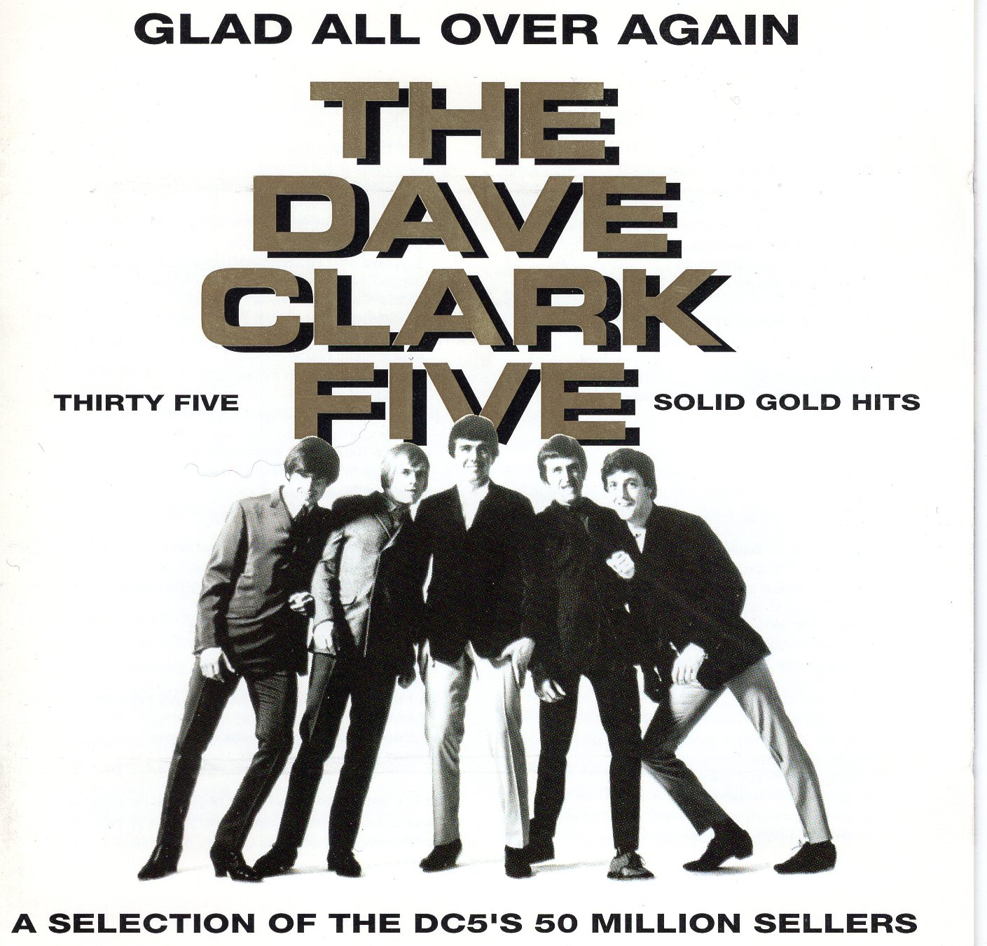 """The Dave Clark Five Thirty Five Solid Gold Hits"" The Dave Clark Five"