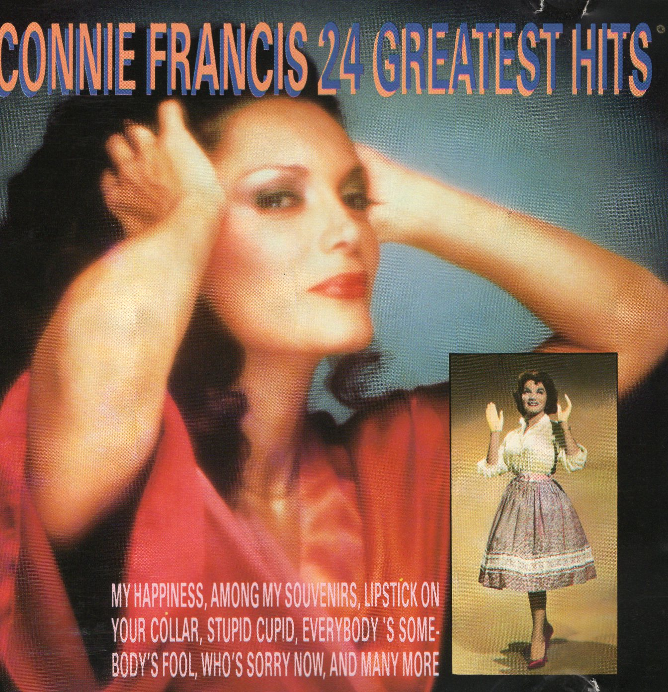 """Connie Francis 24 Greatest Hits"" Connie Francis"