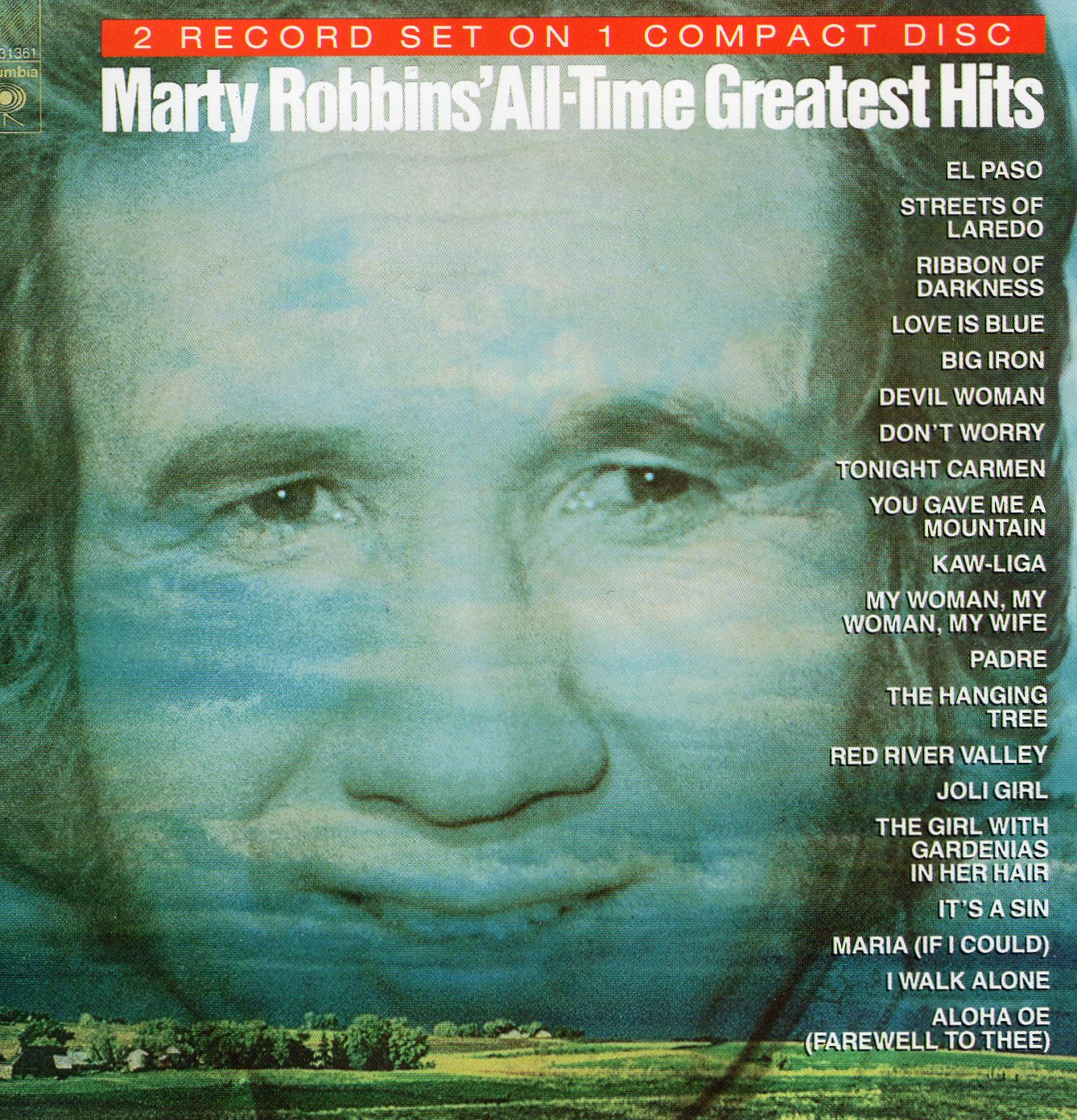 """Marty Robbins's All-Time Greatest Hits"" Marty Robbins"