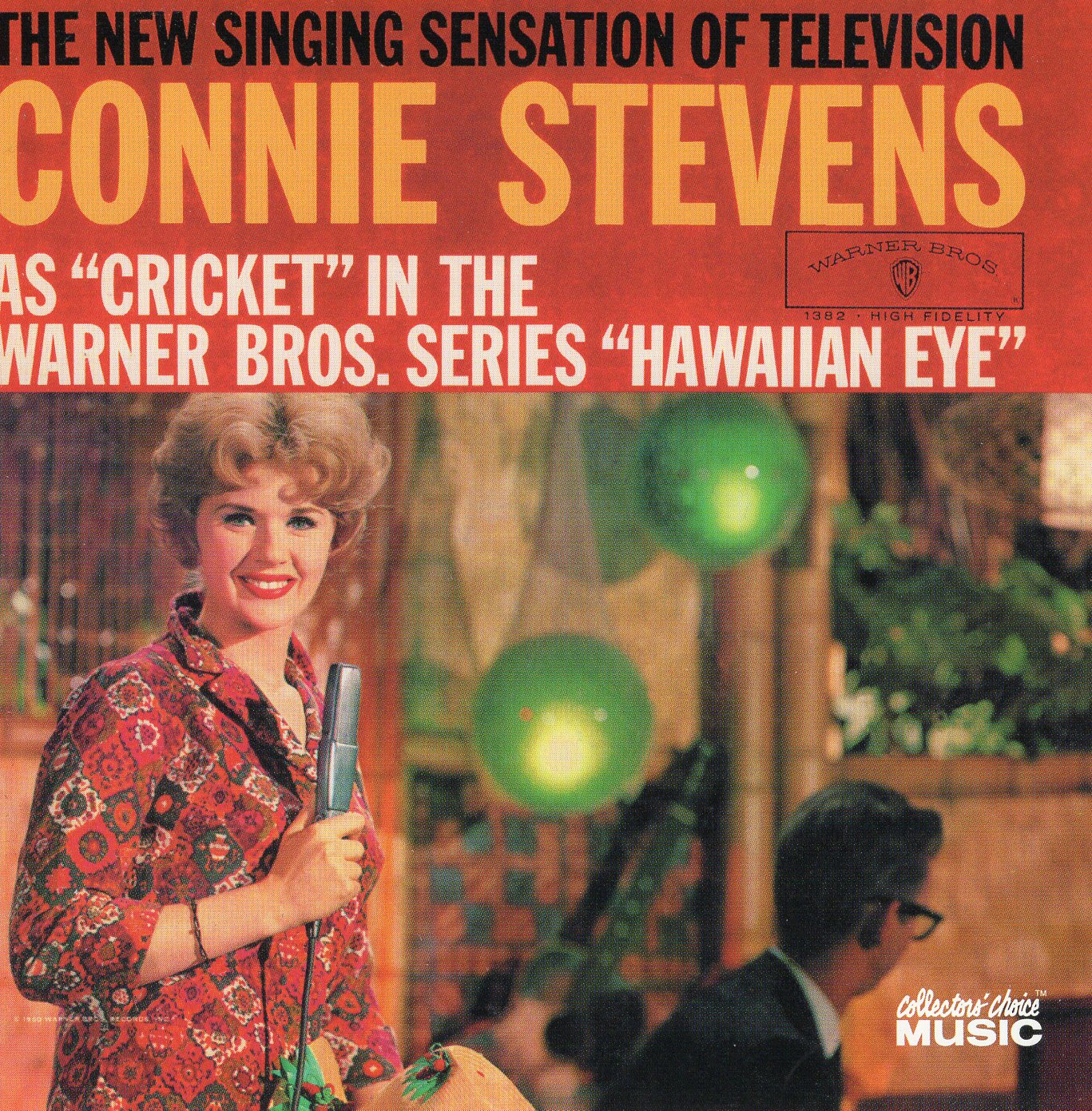 """The New Singings Sensation of Television: As ""Cricket "" in the Warner Bros. Series ""Hawaiian Eye"""" Connie Stevens"