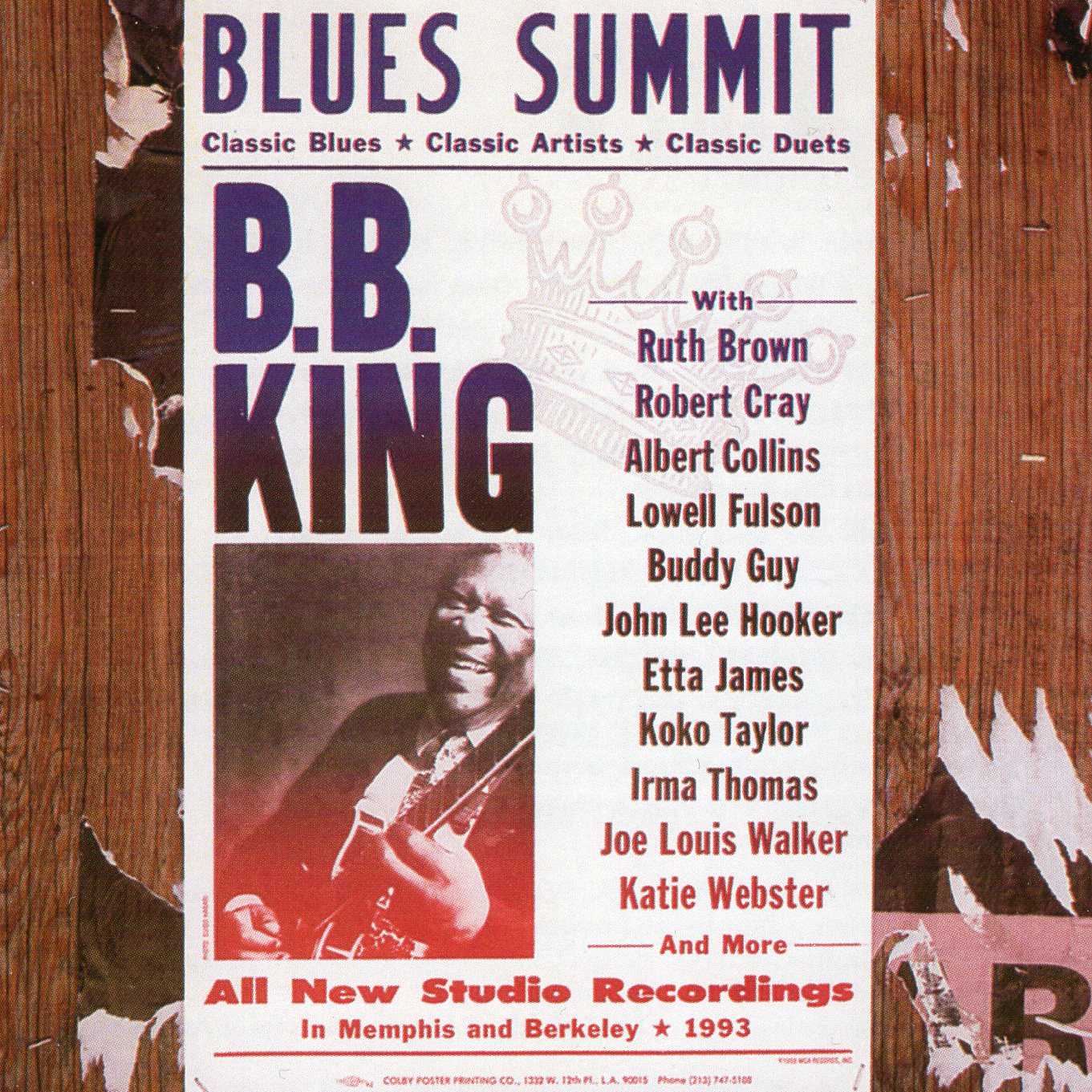 """Blues Summit"" B.B.King"