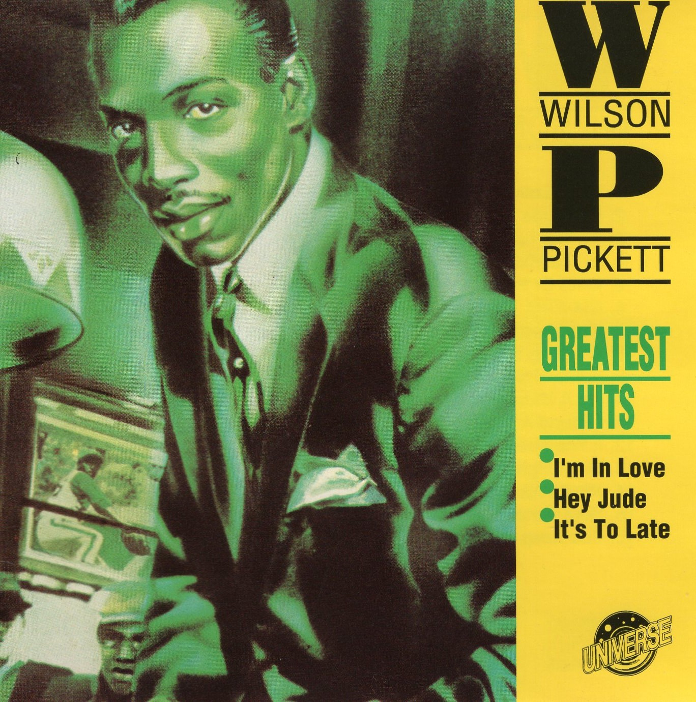 """Wilson Pickett Greatest Hits"" Wilson Pickett"