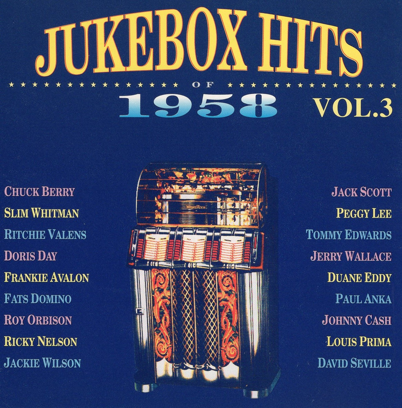 """Jukebox Hits of 1958 Vol.3"""