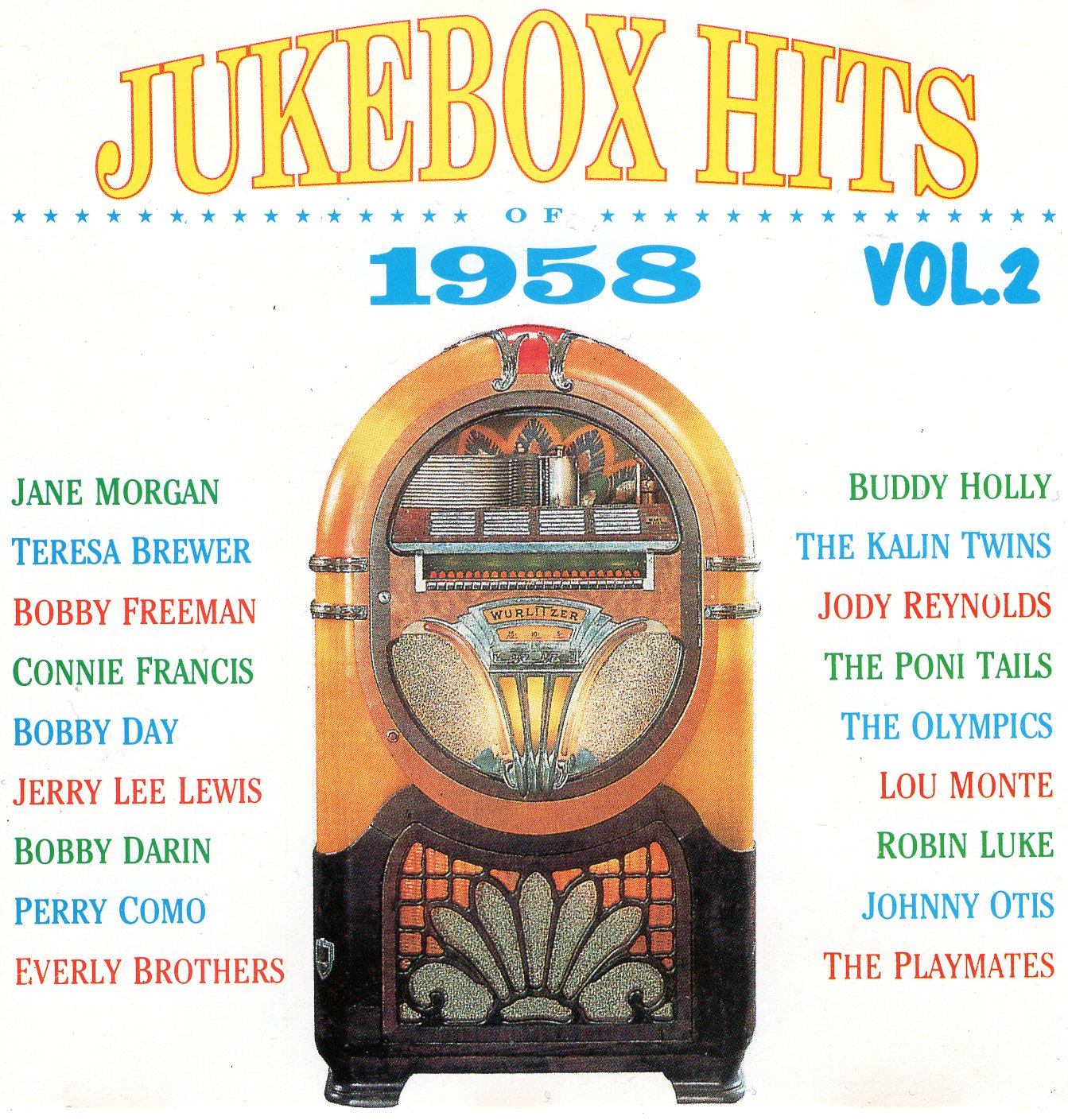 """Jukebox Hits of 1958 Vol.2"""