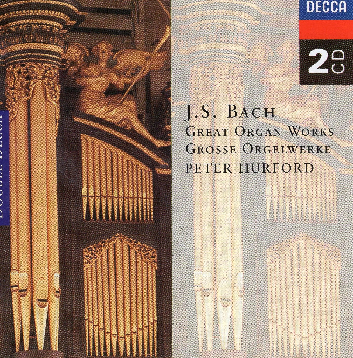 """J.S.Bach: Great Organ Works"" Peter Hurford"