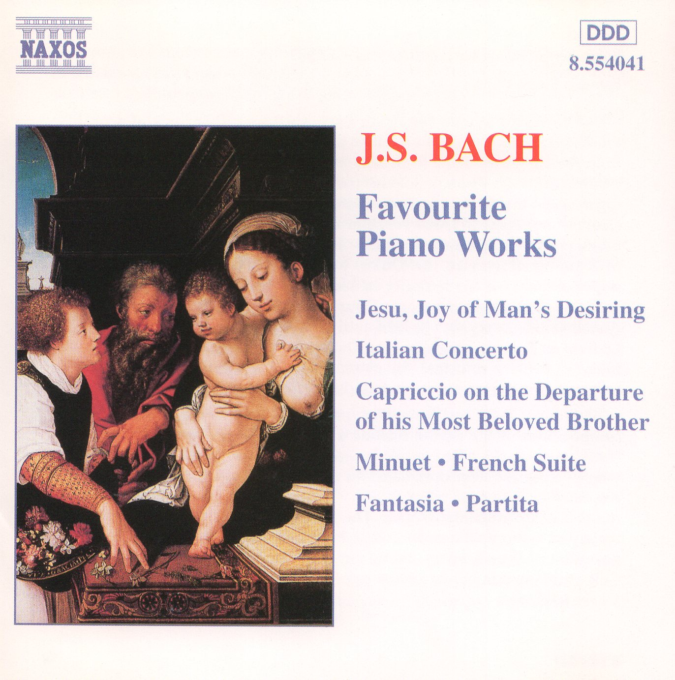 """J.S.Bach: Favorite Piano Works"""