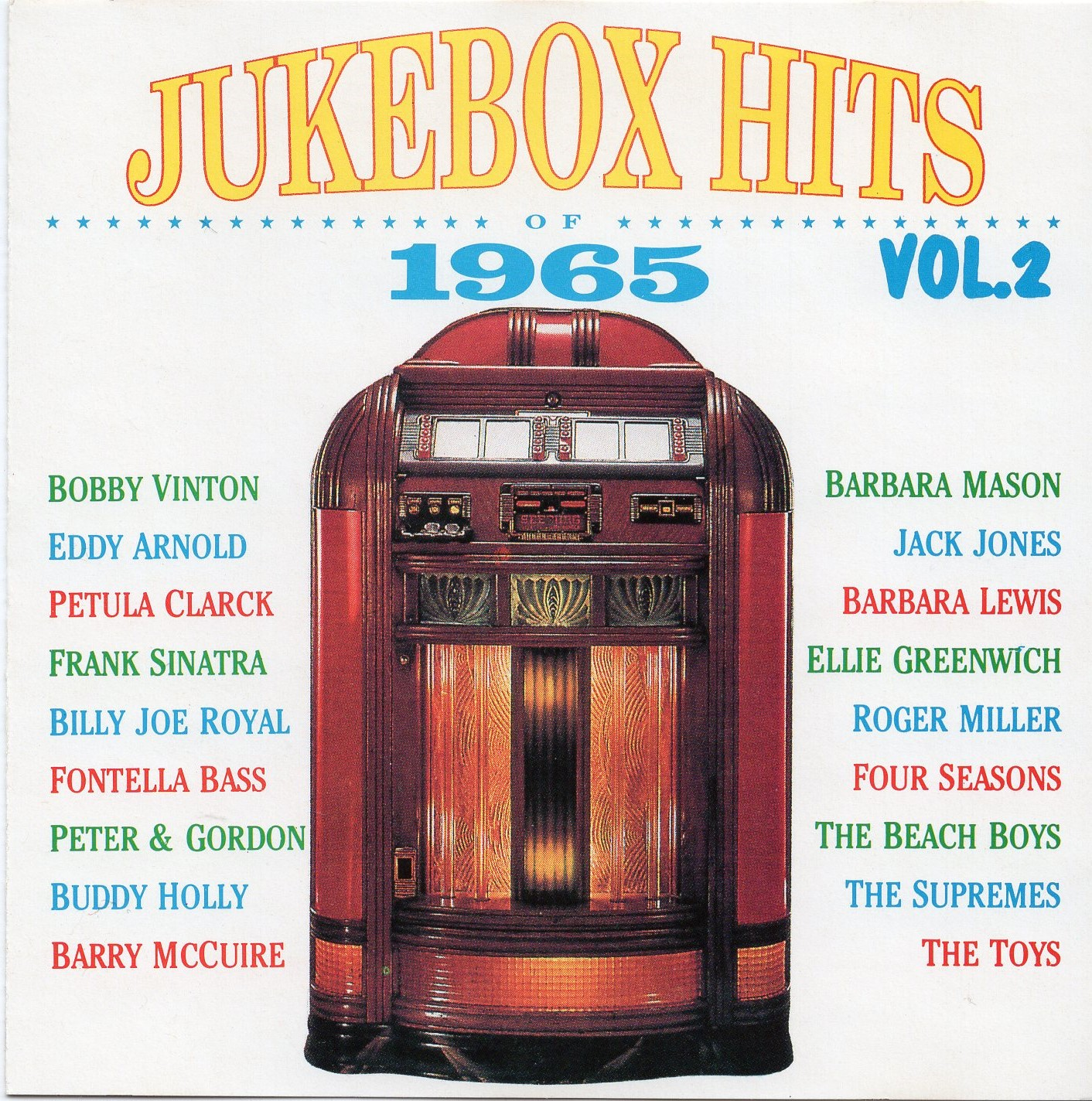 """Jukebox Hits of 1965 Vol.2 """