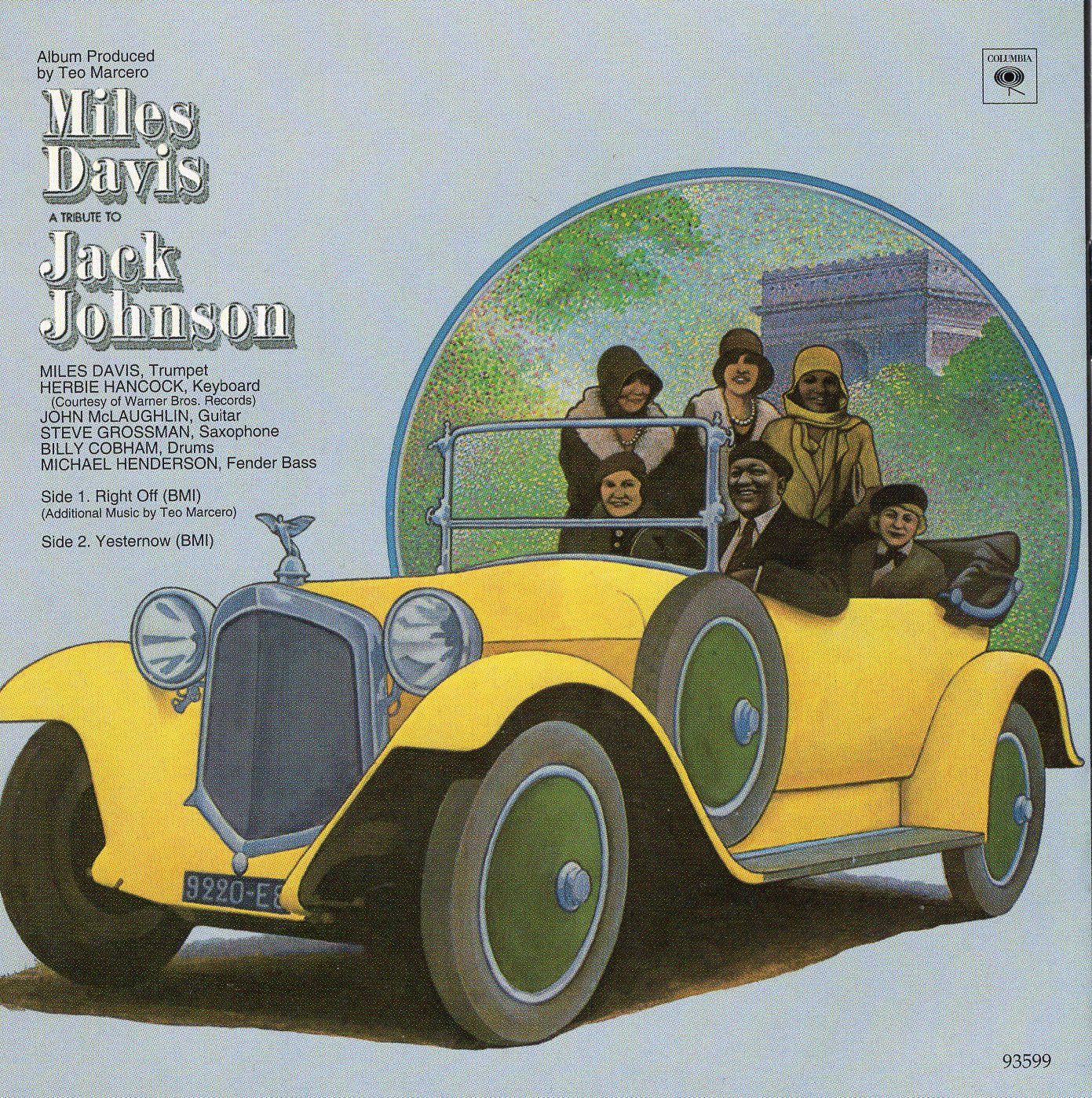 """A Tribute to Jack Johnson"" Miles Davis"
