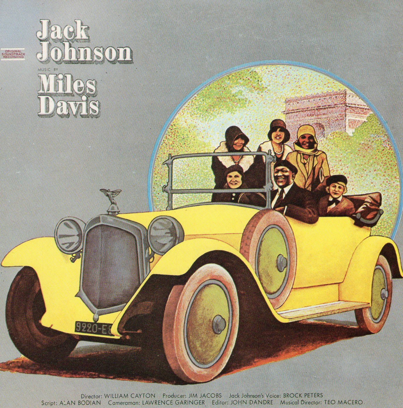 """Tribute to Jack Johnson"" Miles Davis"