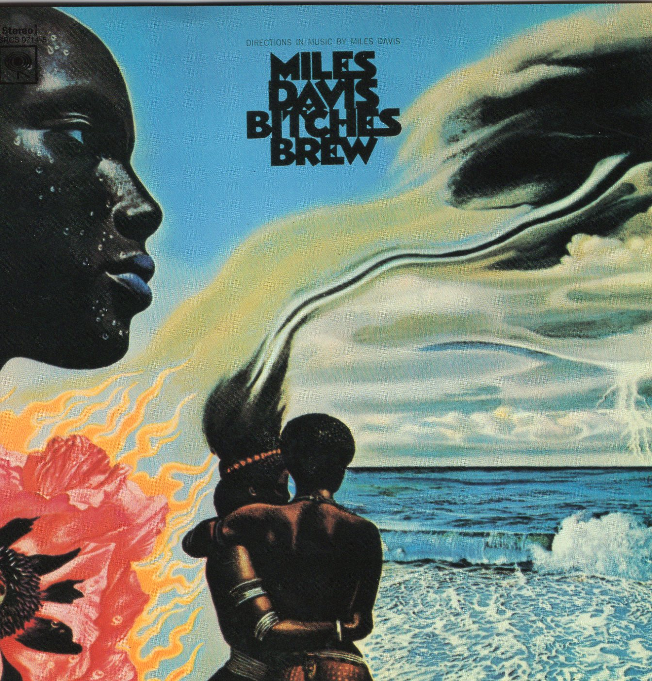 """Bitches Brew"" Miles Davis"