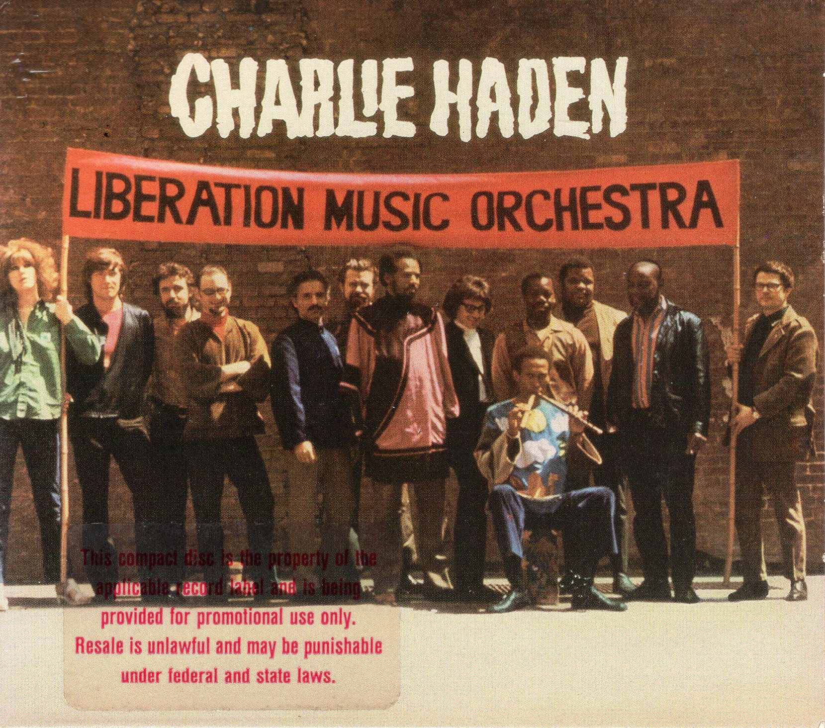"""Liberation Music Orchestra"" Charlie Haden"