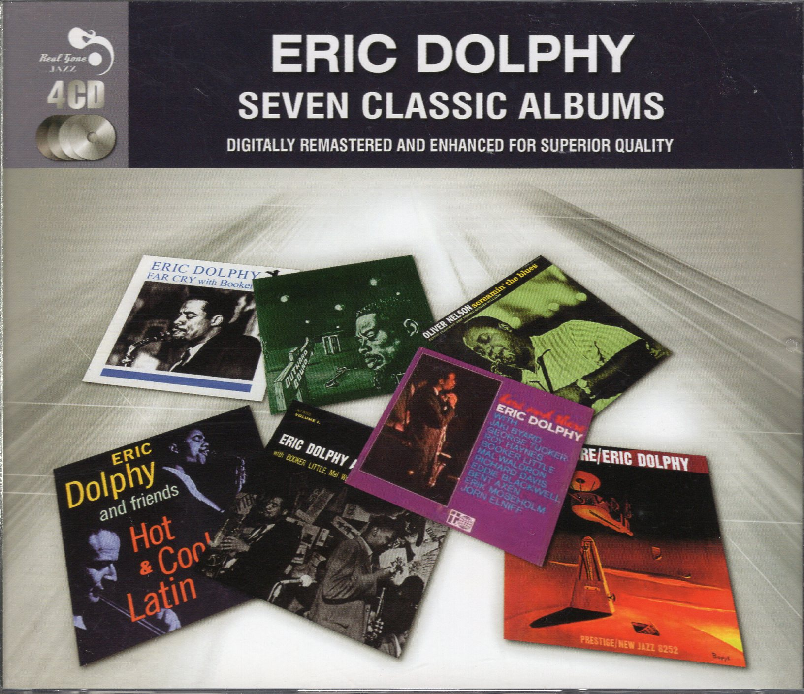 """Eric Dolphy Seven Classic Albums"" Eric Dolphy"