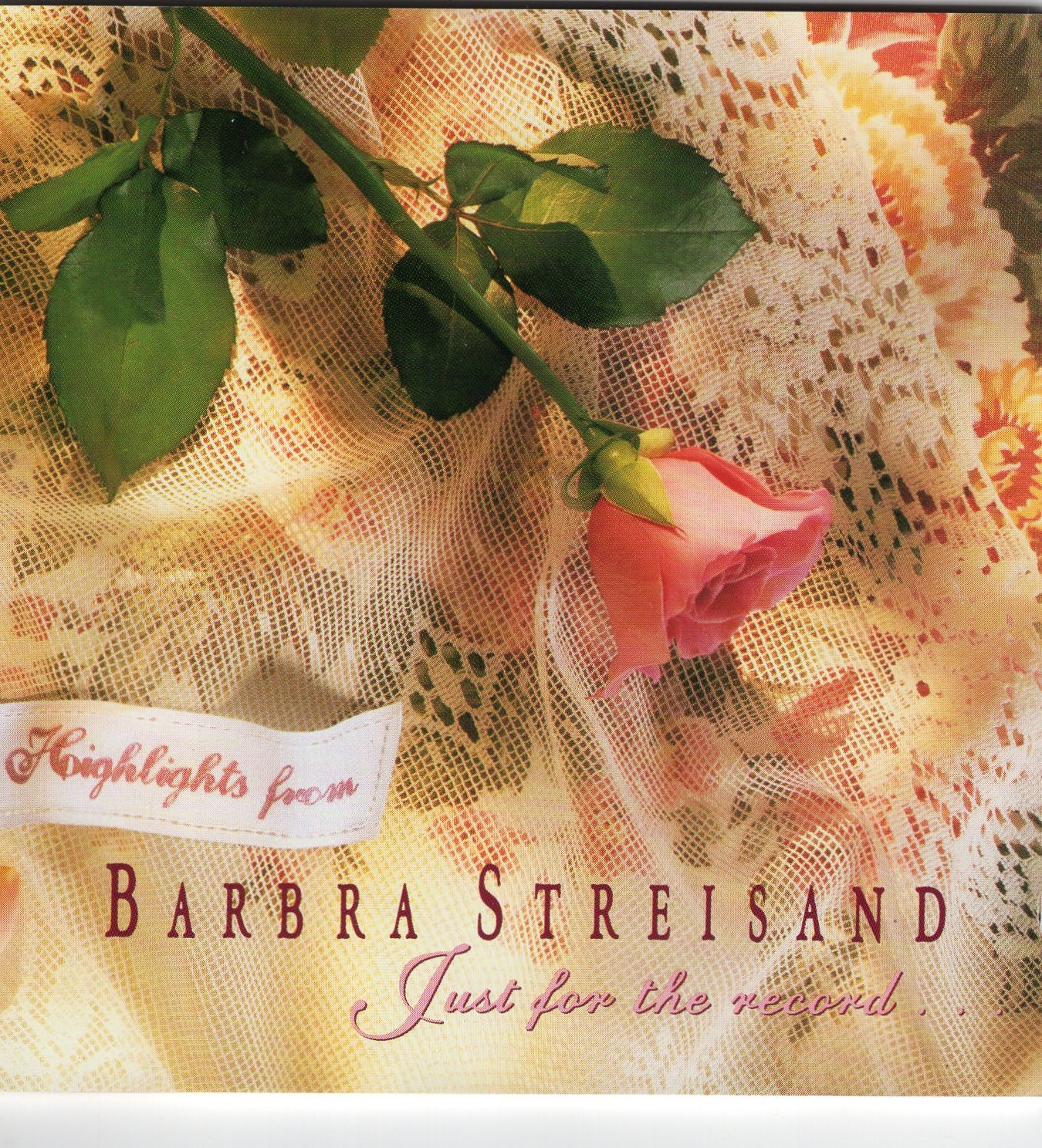 """Just For The Record"" Barbra Streisand"