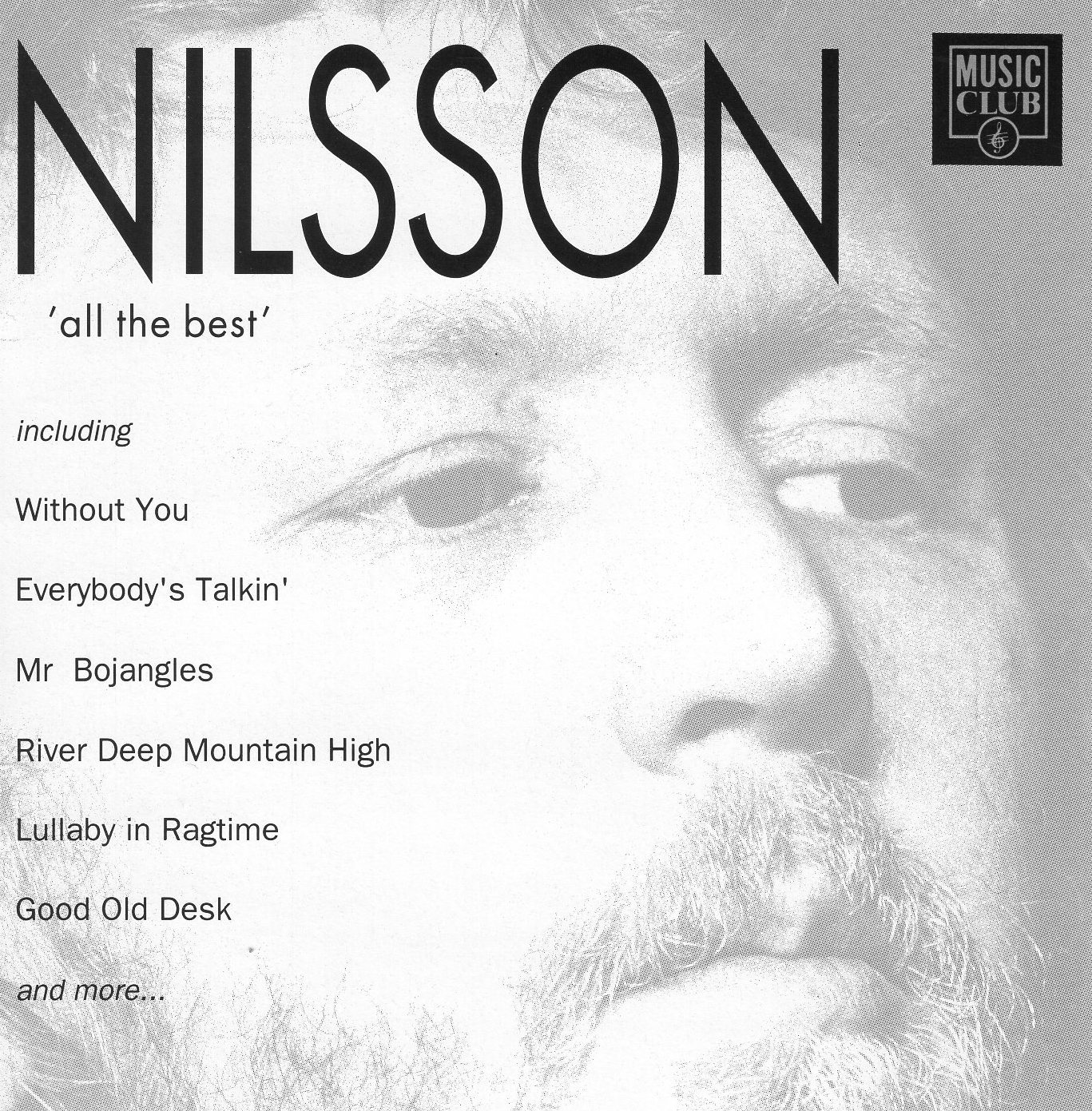 """Nilsson All The Best"" Harry Nilsson"