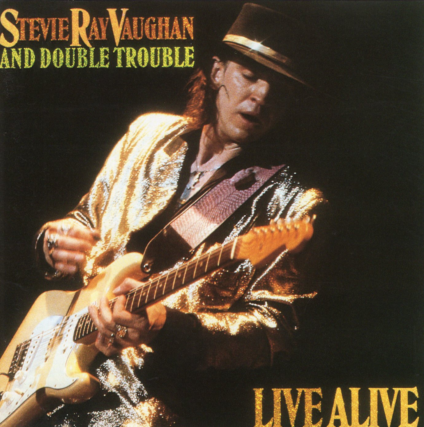 """Live Alive"" Stevie Ray Vaughan And Double Trouble"