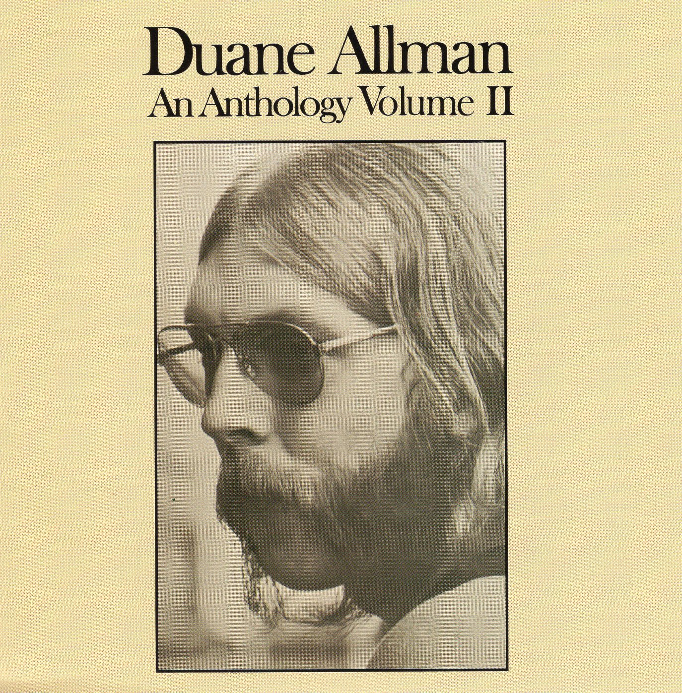 """An Anthology Volume II"" Duane Allman"