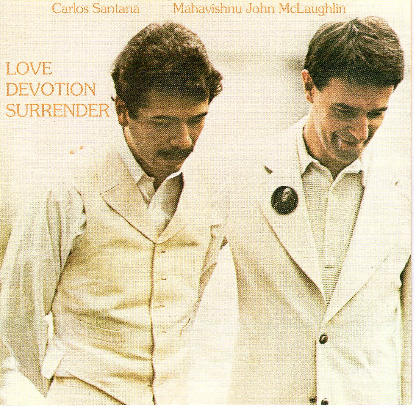 """Love Devotion Surrender"" Carlos Santana & Mahavishnu John Mclaughlin"