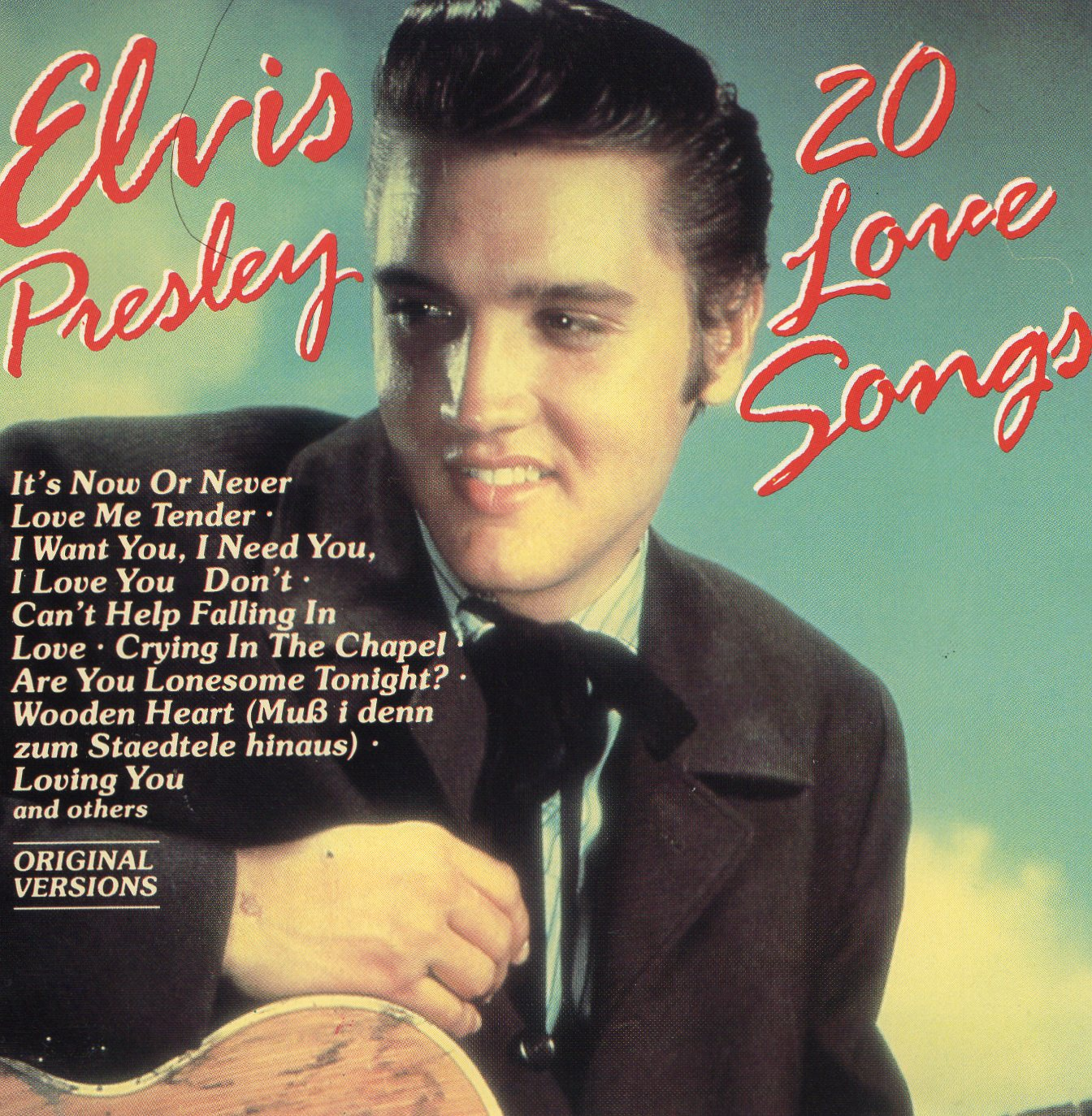"""20 Love Songs"" Elvis Presley"