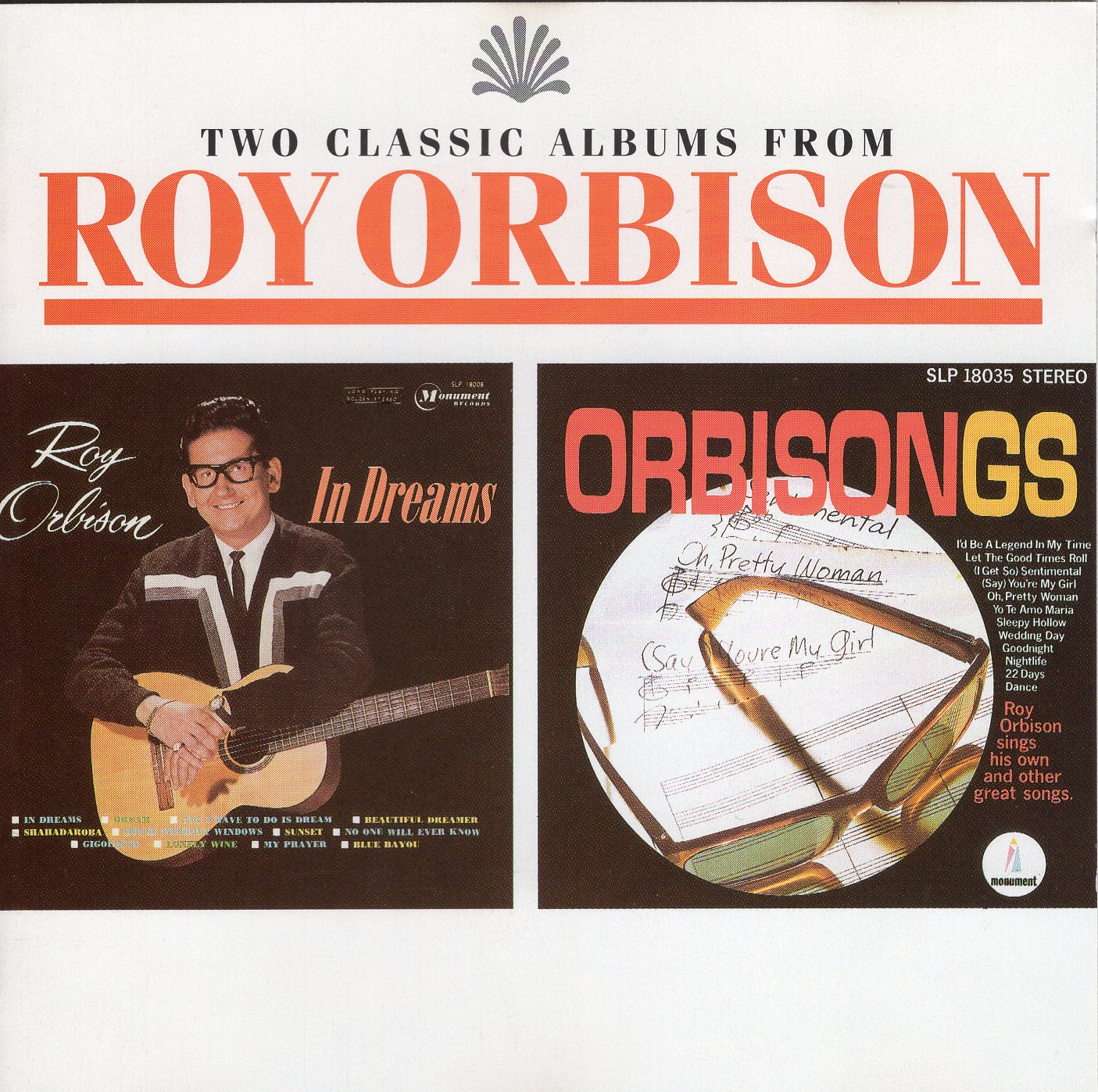"""Two Classic Albums From Roy Orbison"" Roy Orbison"