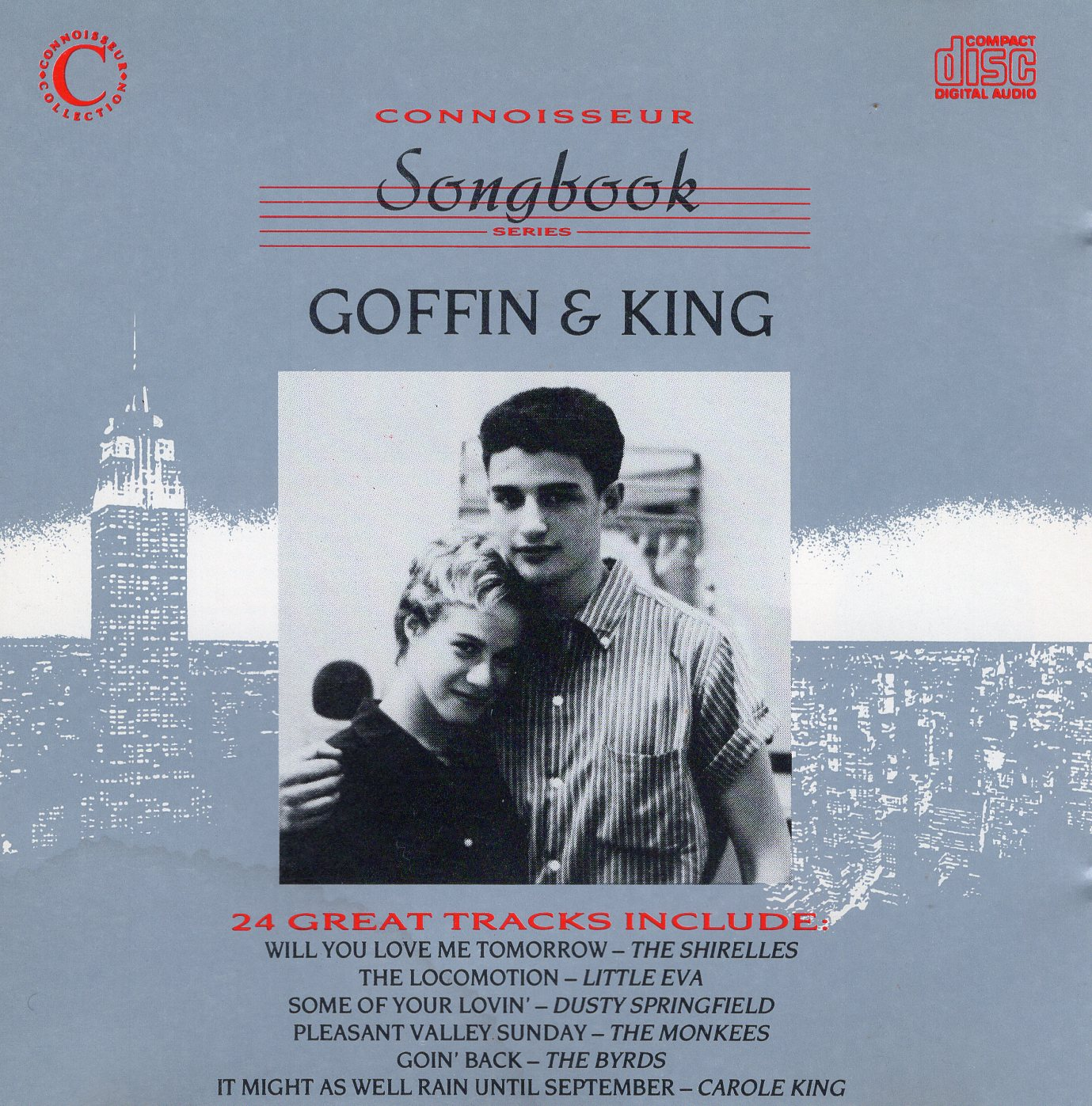 """Coffin & King 24 Great Tracks Include"" Carole King, Gerry Goffin"