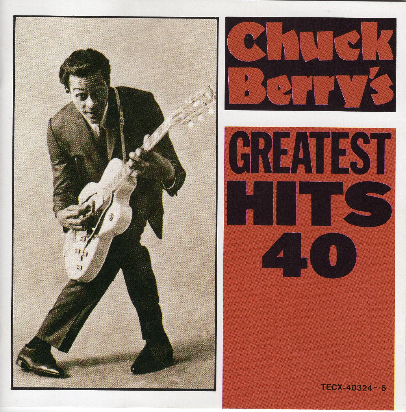 """Chuck Berry's Greatest Hits 40"" Chuck Berry"