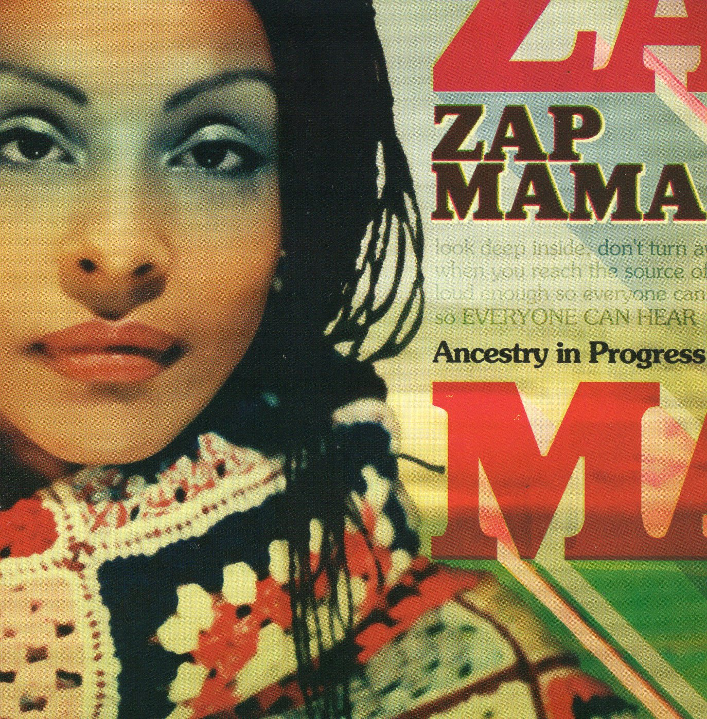 """Ancestry in Progress"" Zap Mama"