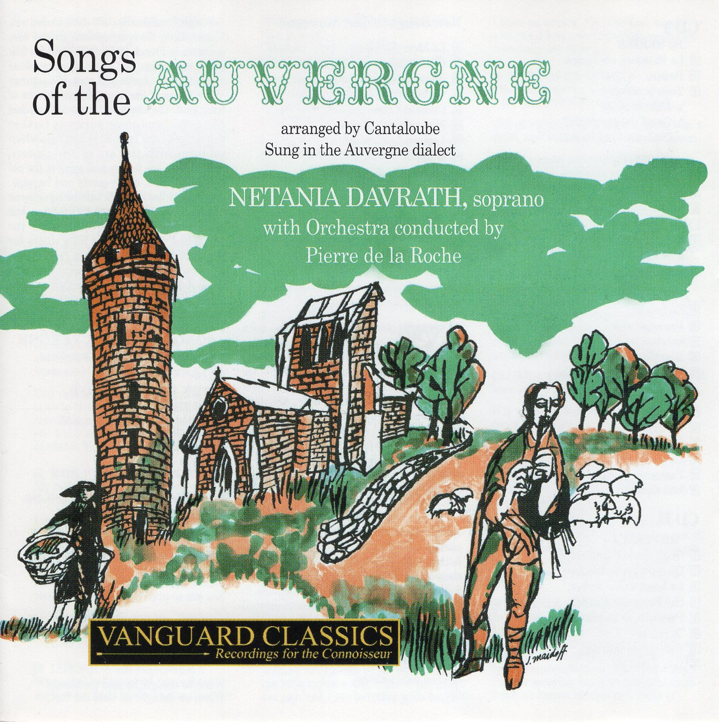"""Songs of The Auvergne"" Nerania Davrath, Netania Davrath"