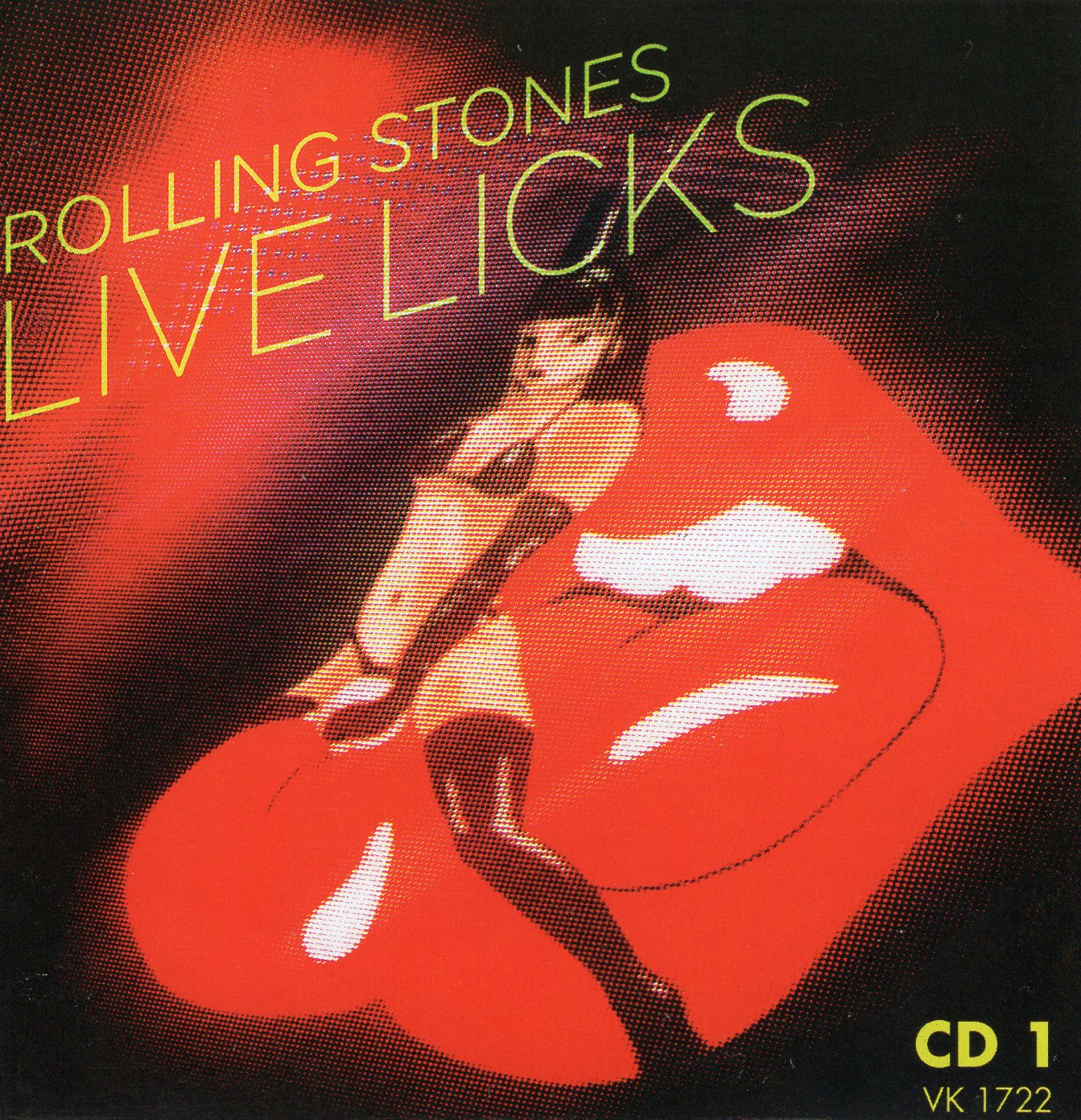 """Rolling Stones Live Licks"" The Rolling Stones"