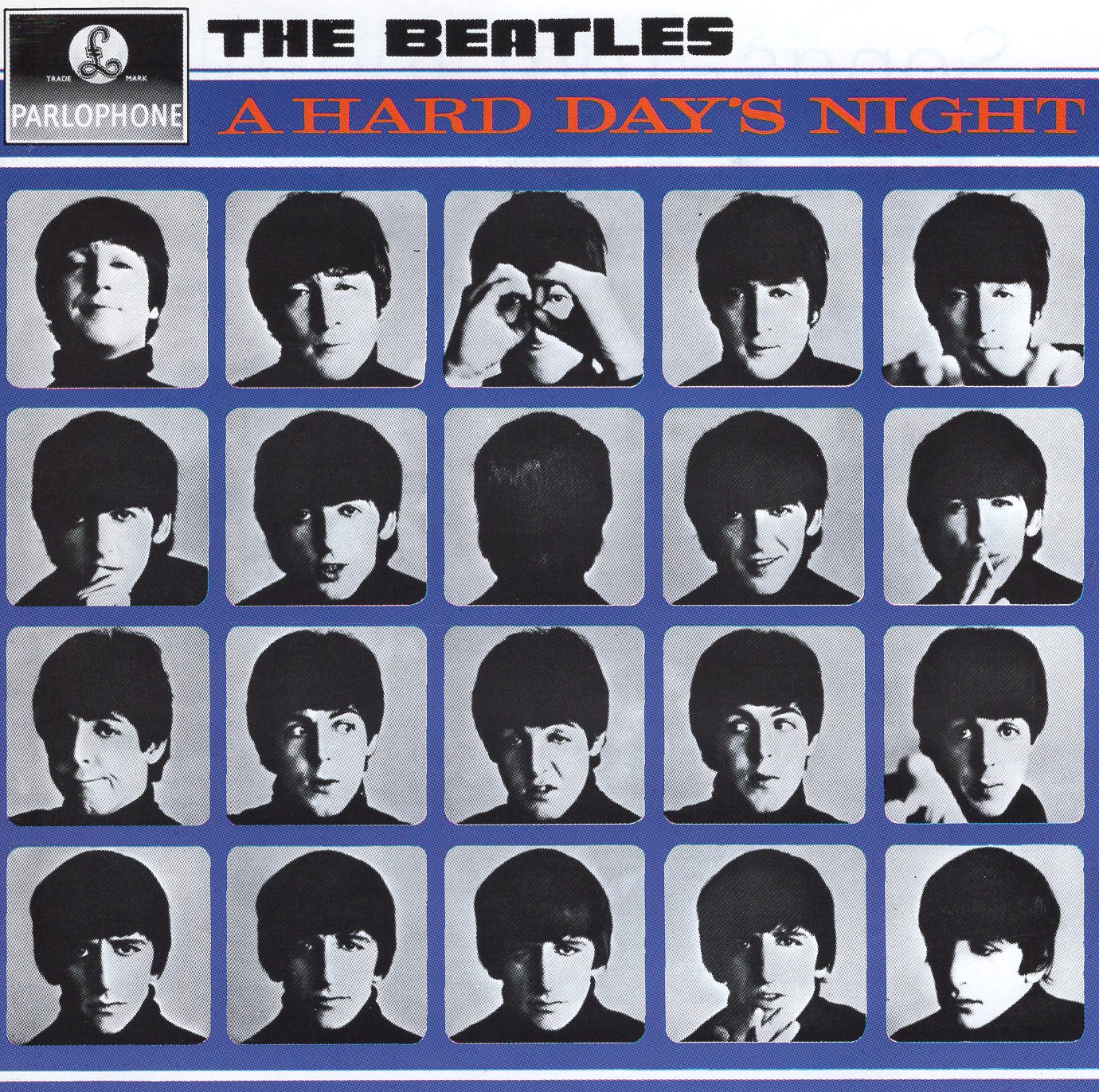 """A Hard Days Night"" The Beatles"