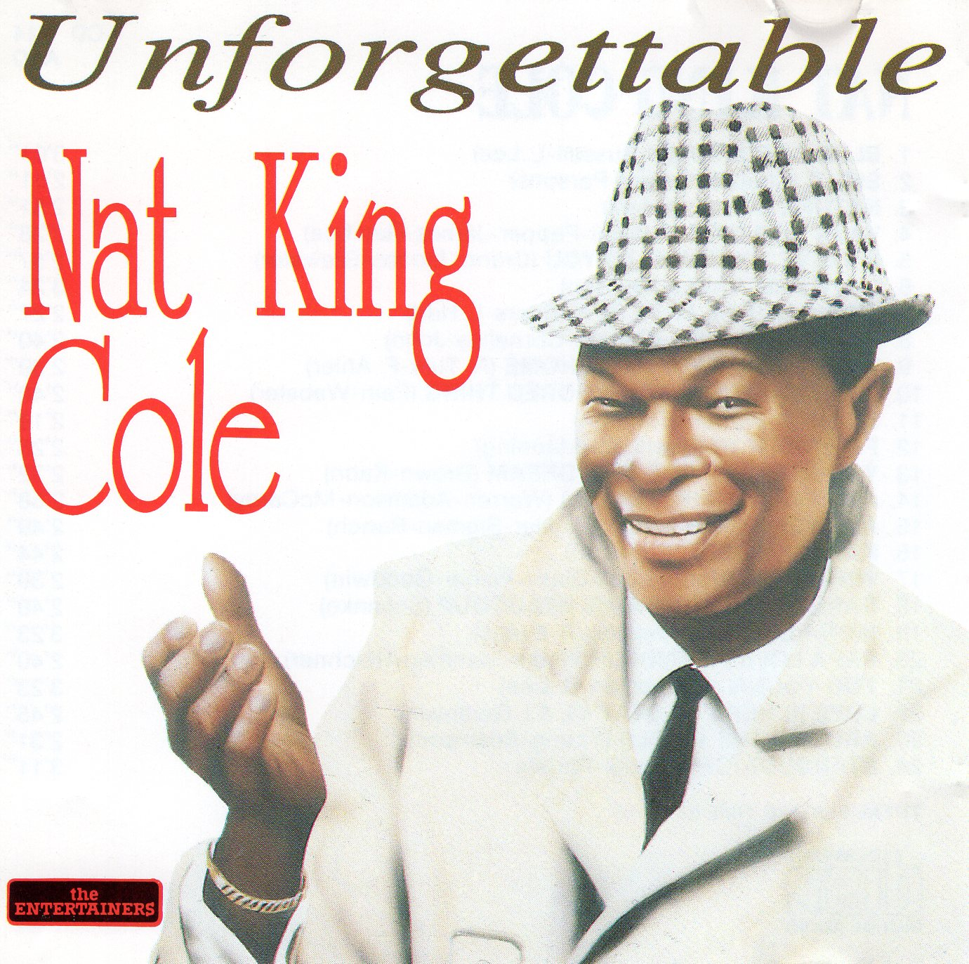 """Unforgettable"" Nat King Cole"