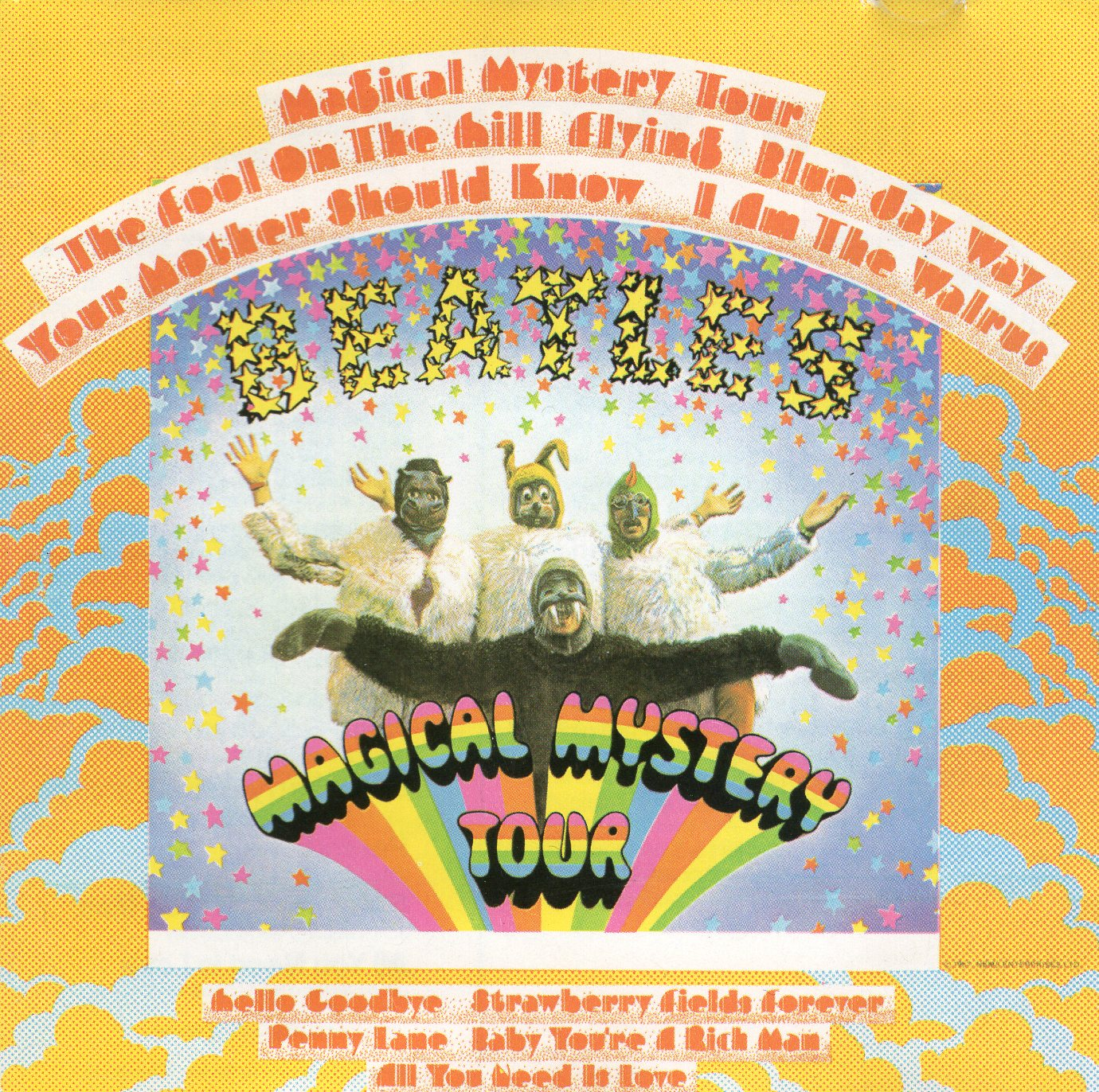 """Magicak Mystery Tour"" The Beatles"