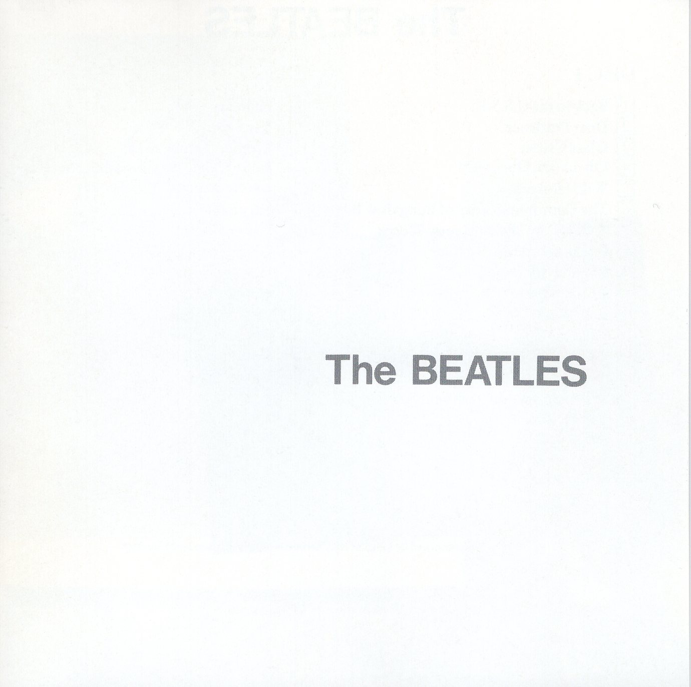 """The Beatles ( The White Album)"" The Beatles"