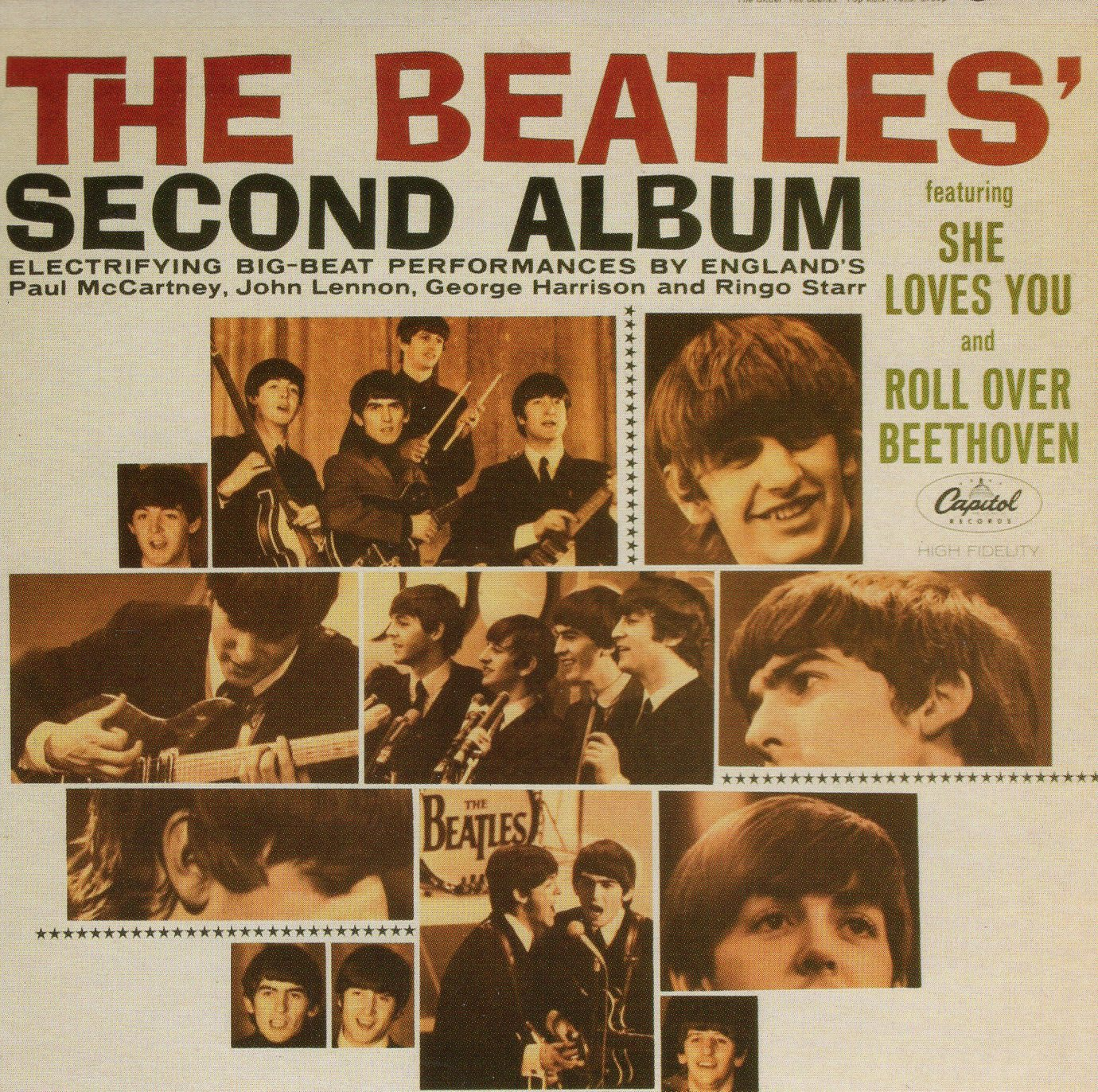 """The Beatles' Second Album"" The Beatles"