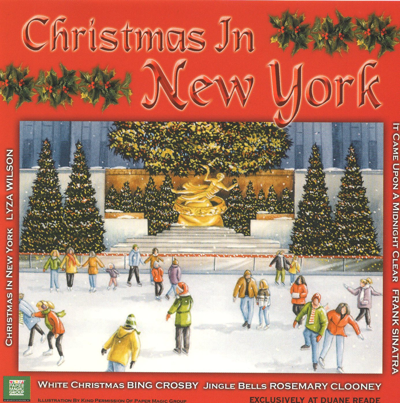 """Christmas in New York"" Lyza Wilson"