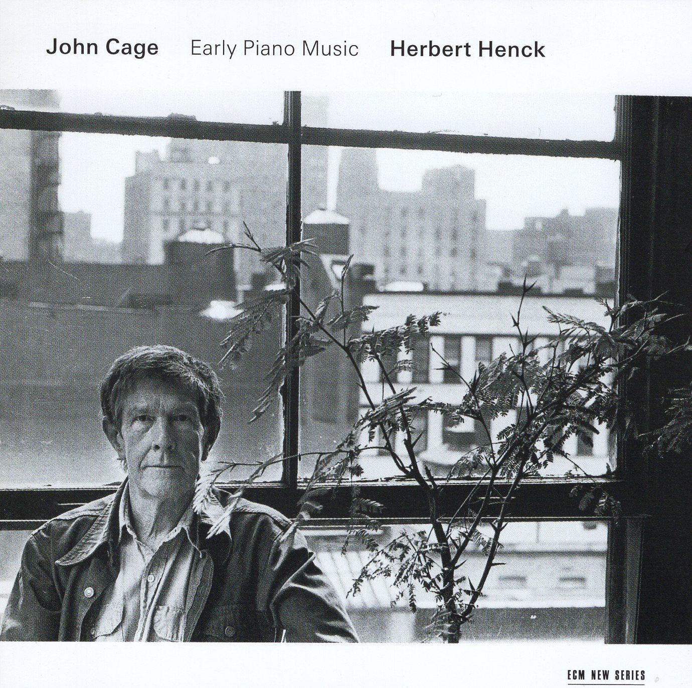 """John Cage Early Piano Music Herbert Henck"" John Cage"