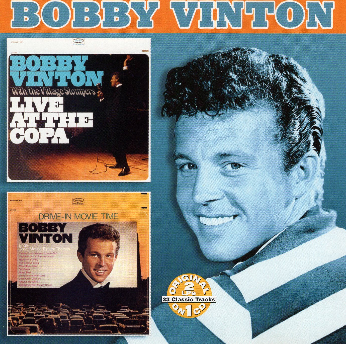 """Live at the Copa"" Bobby Vinton"