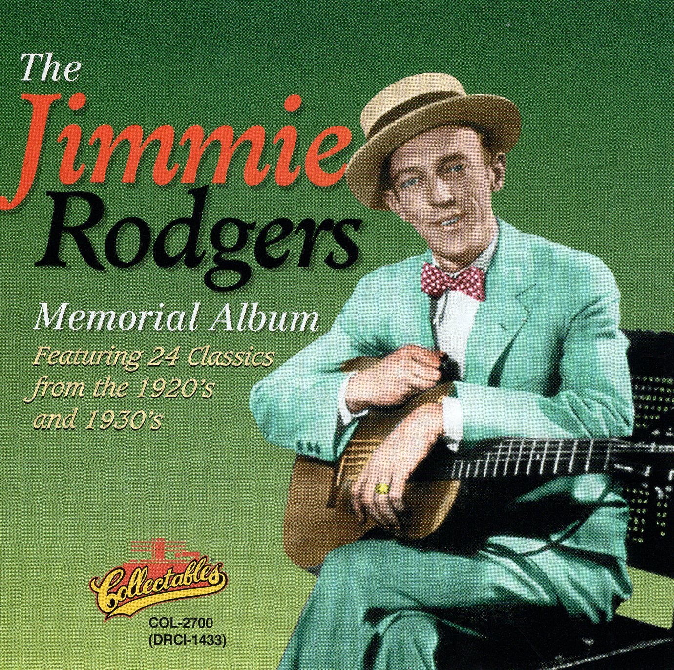 """The Jimmie Rodgers Memorial Album"" Jimmie Rodgers"