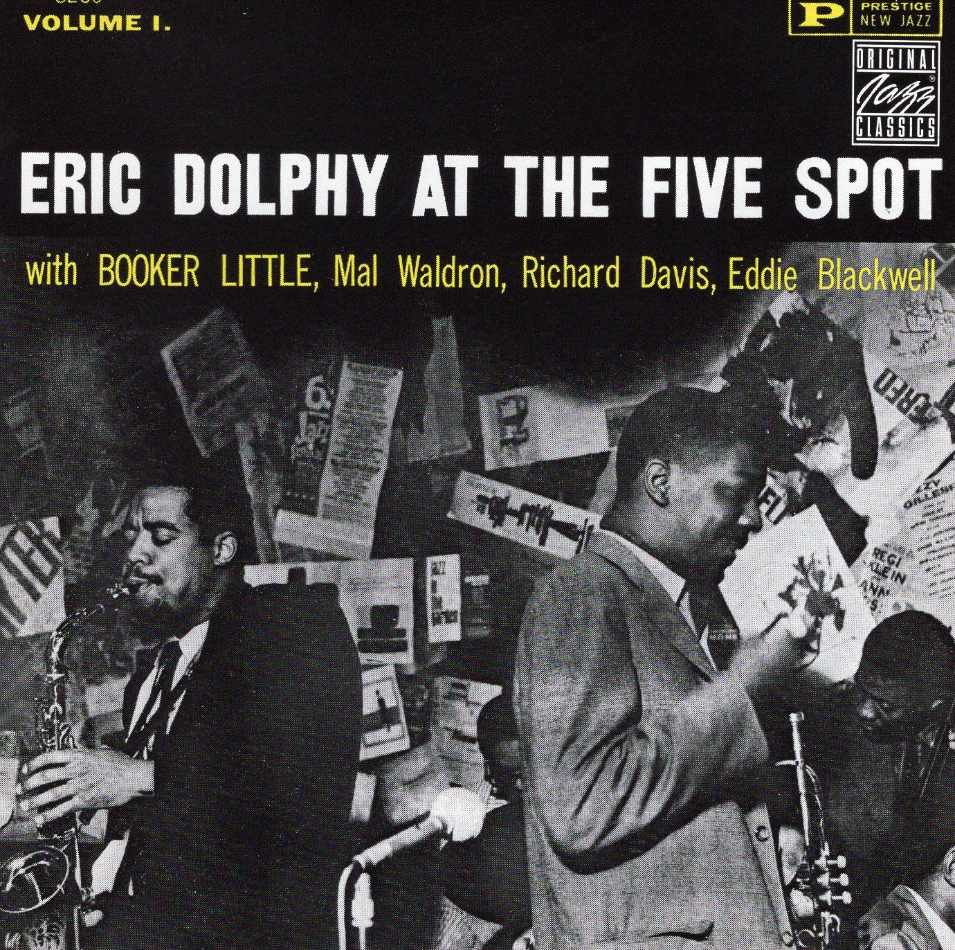 """Eric Dolphy At The Five Spot"" Eric Dolphy"