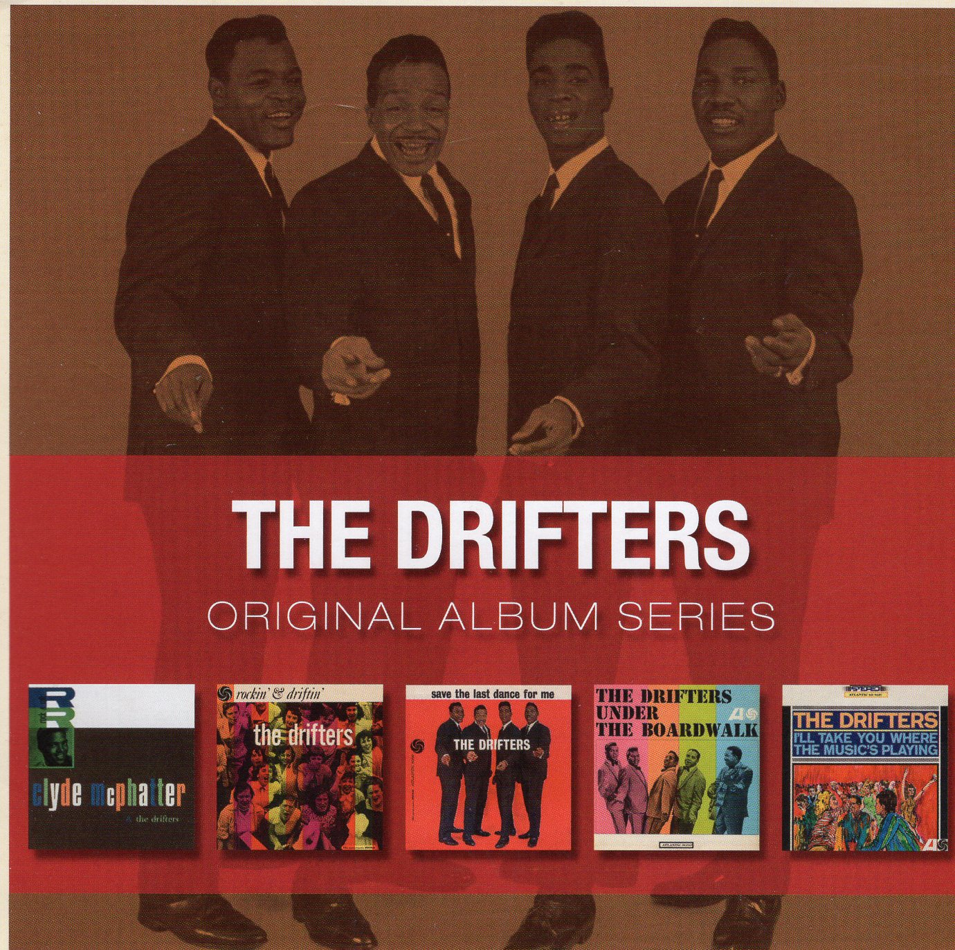 """The Drifters Original Album Series"" The Drifters"