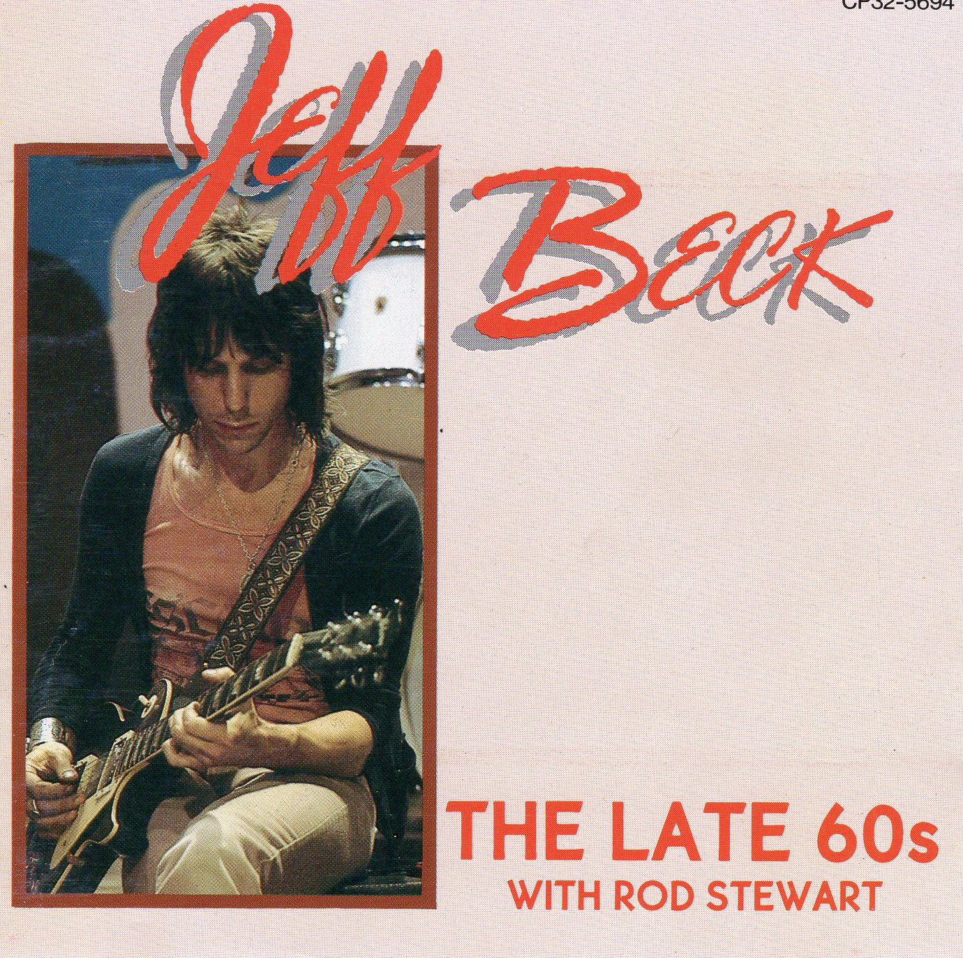 """The Late 60s"" Jeff Beck"