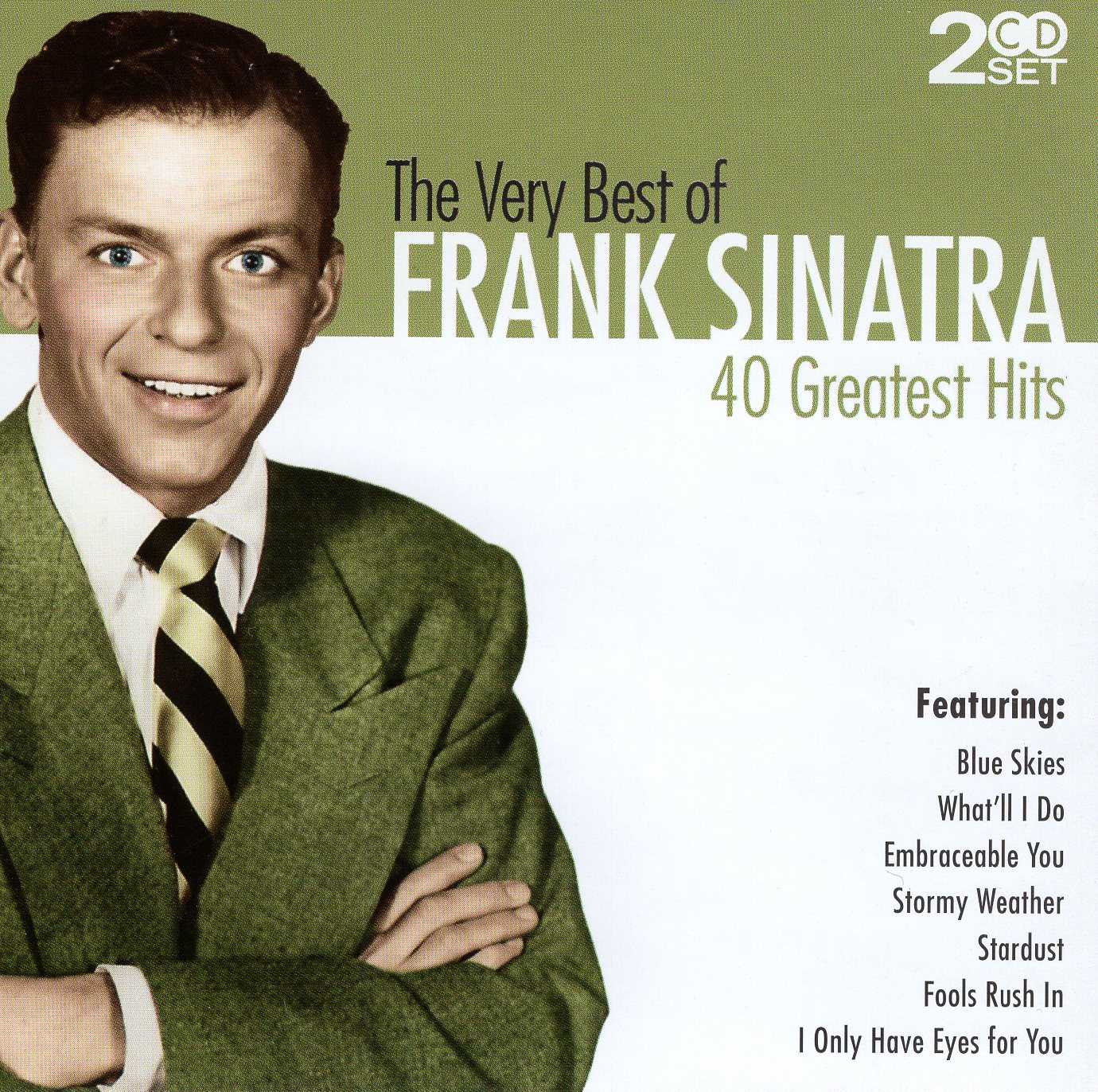 """The Very Best of Frank Sinatra 40 Greatest Hits"" Frank Sinatra"