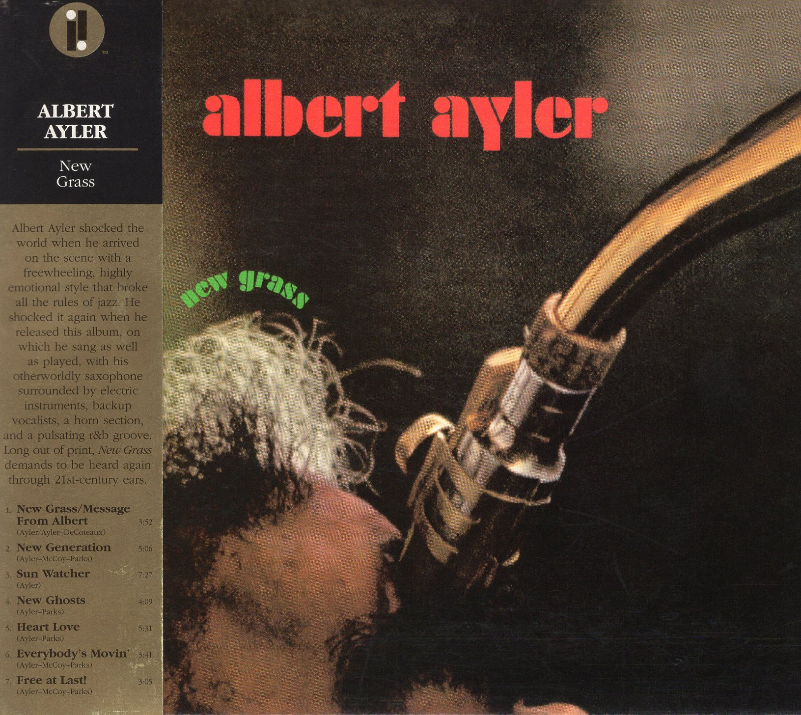"""New Grass"" Albert Ayler"
