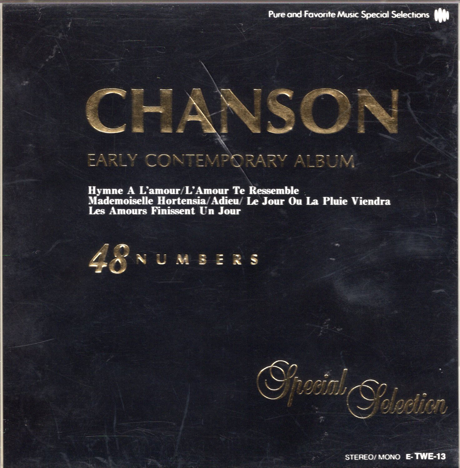 """Chanson Early Contemporary Album 48 Numbers"""