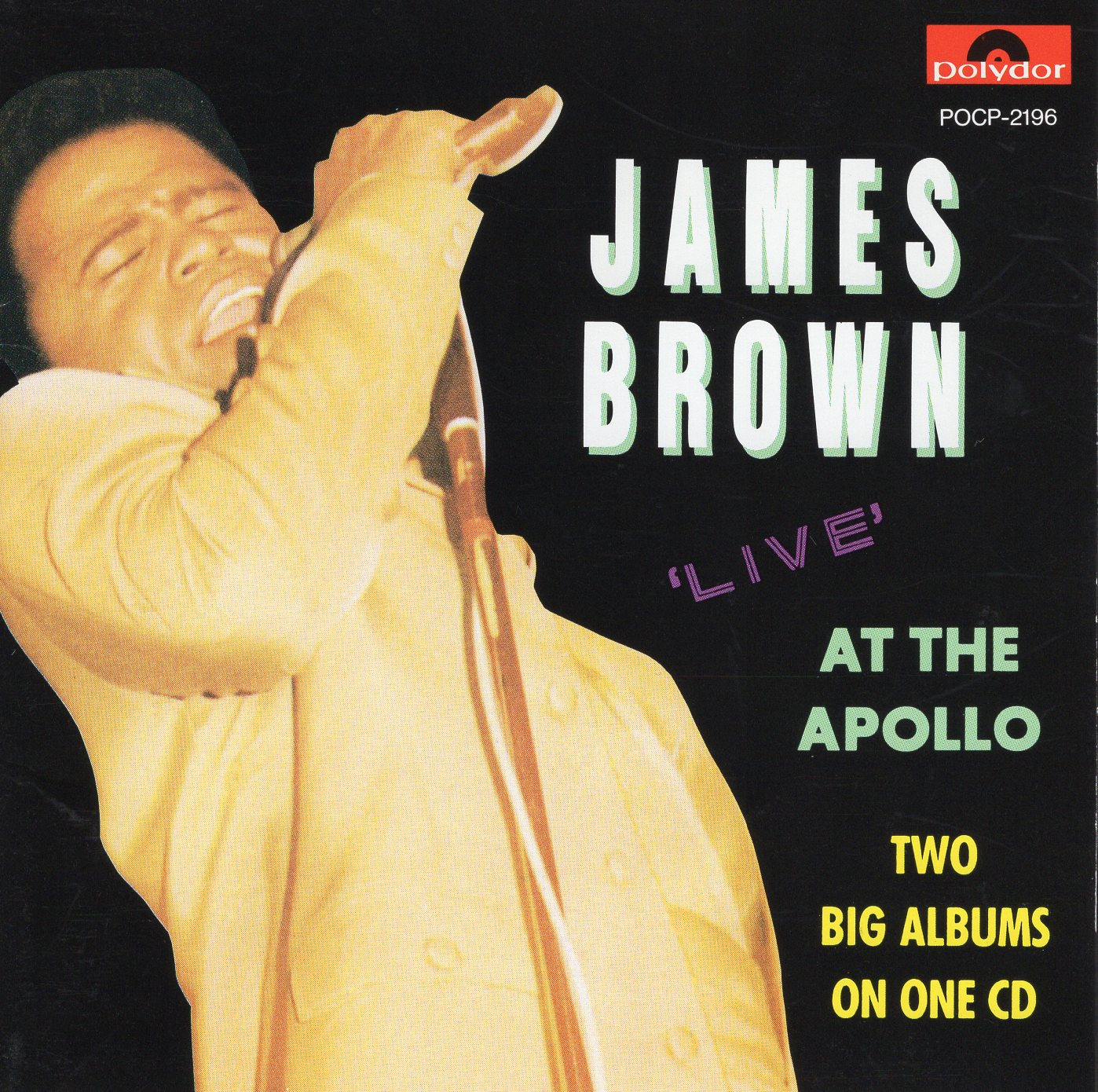 """James Brown Live at the Apollo"" James Brown"