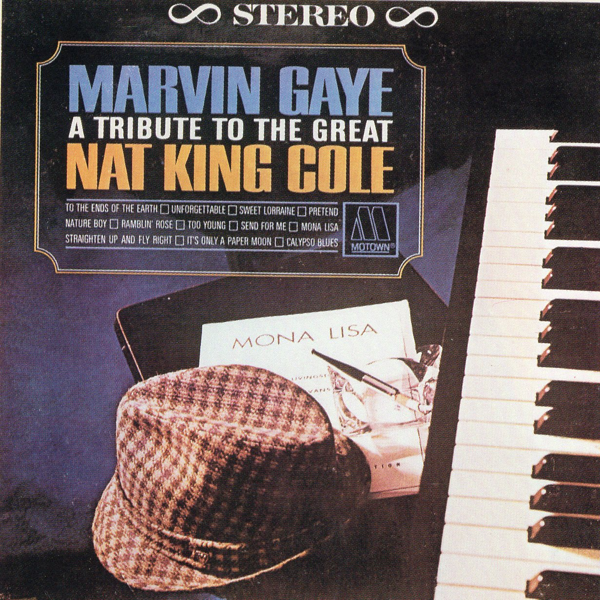 """A Tribute to the Great"" Marvin Gays, Nat King Cole"