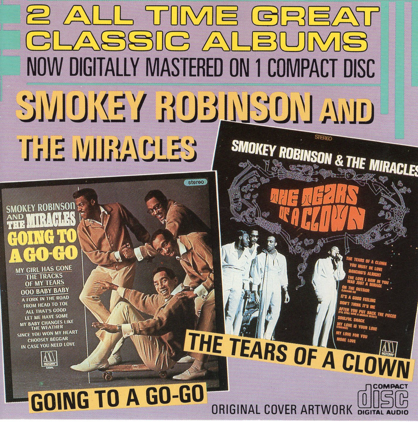 """All Time Great Classic Albums"" Smokey Robinson, The Miracles"